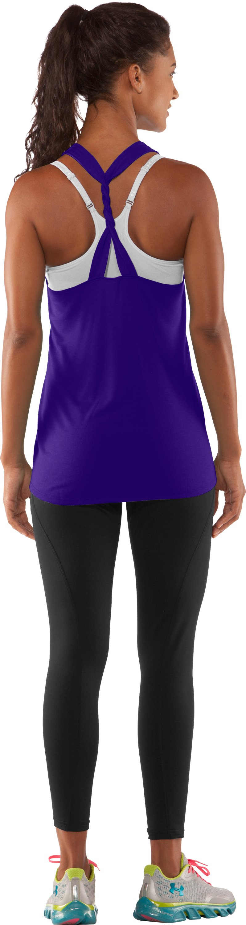 Women's UA Muscle Tank, Pluto, Back