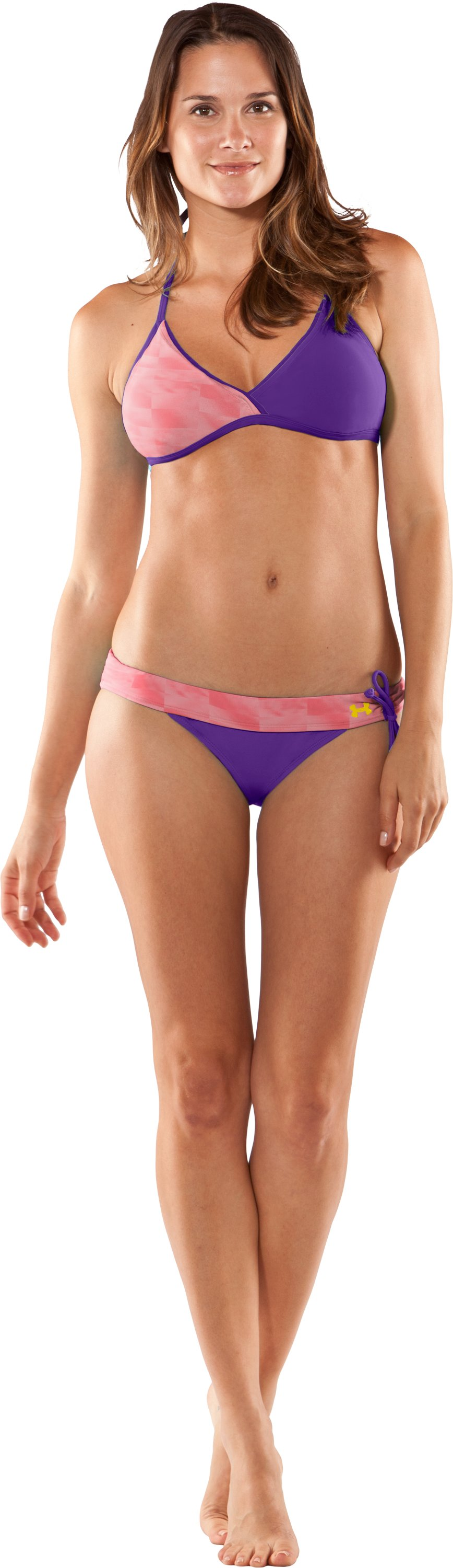 Women's UA Thaiband Bikini Bottom, Perfection, Front