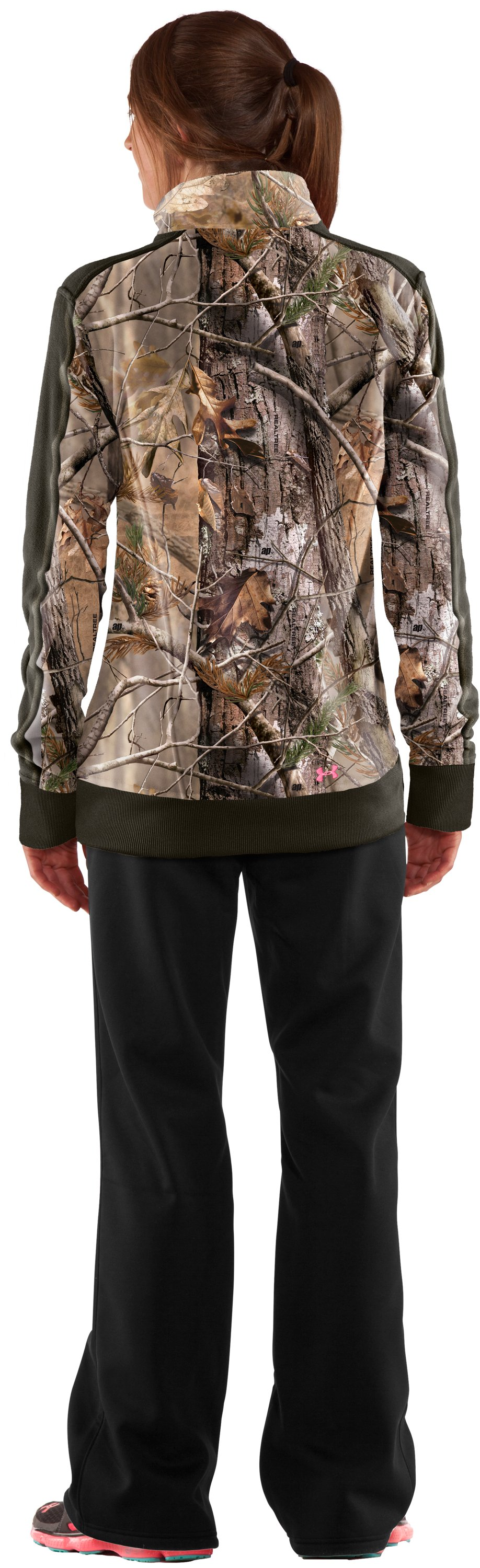 Women's Ayton Fleece Jacket, Realtree AP, Back