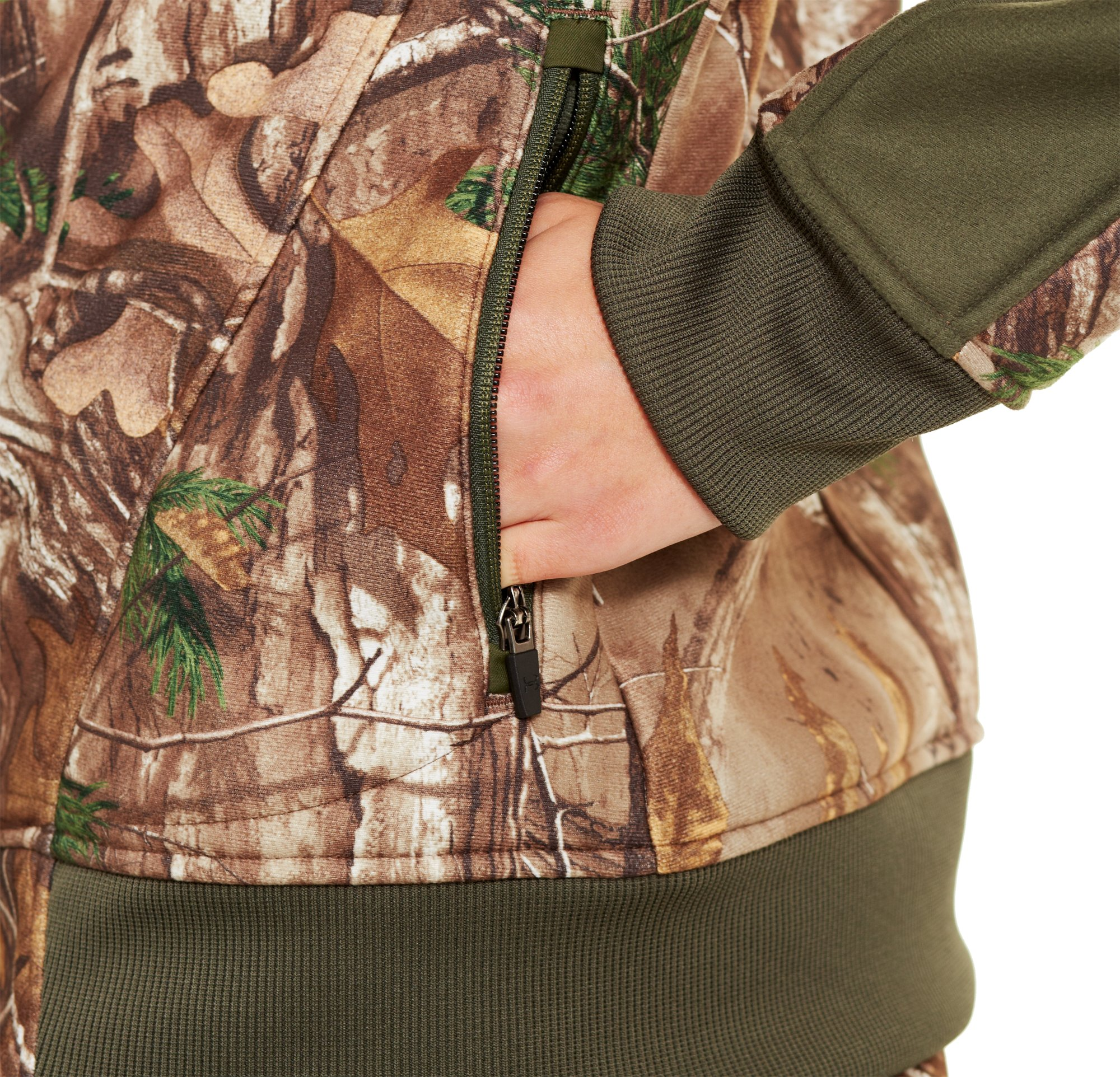 Women's Ayton Fleece Jacket, Realtree AP