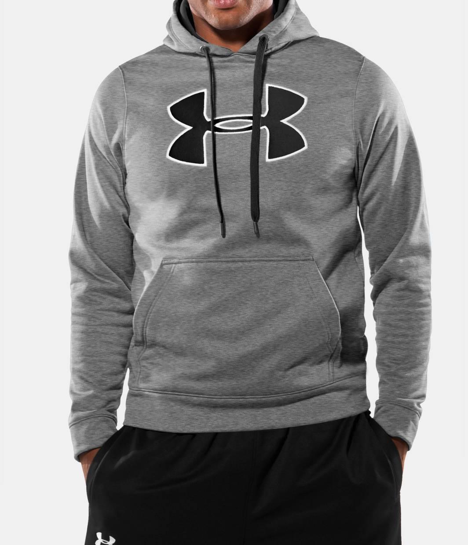 Under armour grey hoodie