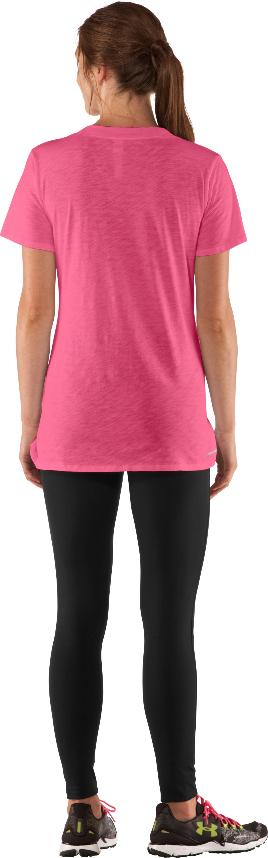 Women's Charged Cotton® Slub T-Shirt, Ultra, Back