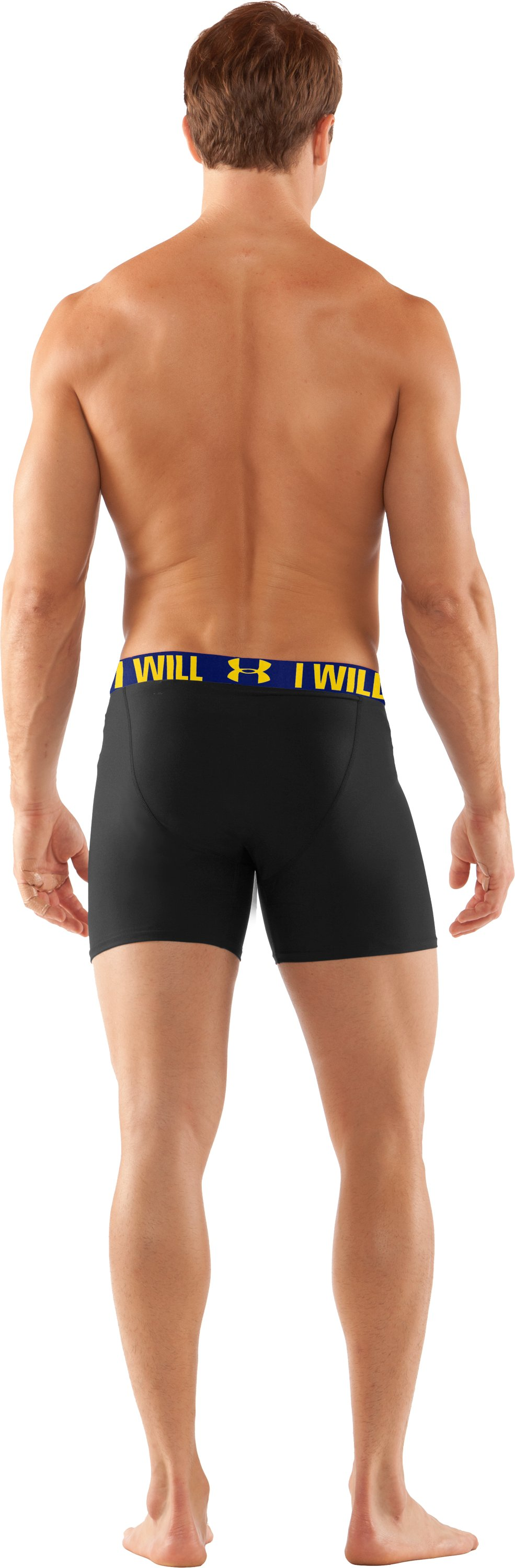 Men's UA Original Series Statement Boxerjock®, Black , Back