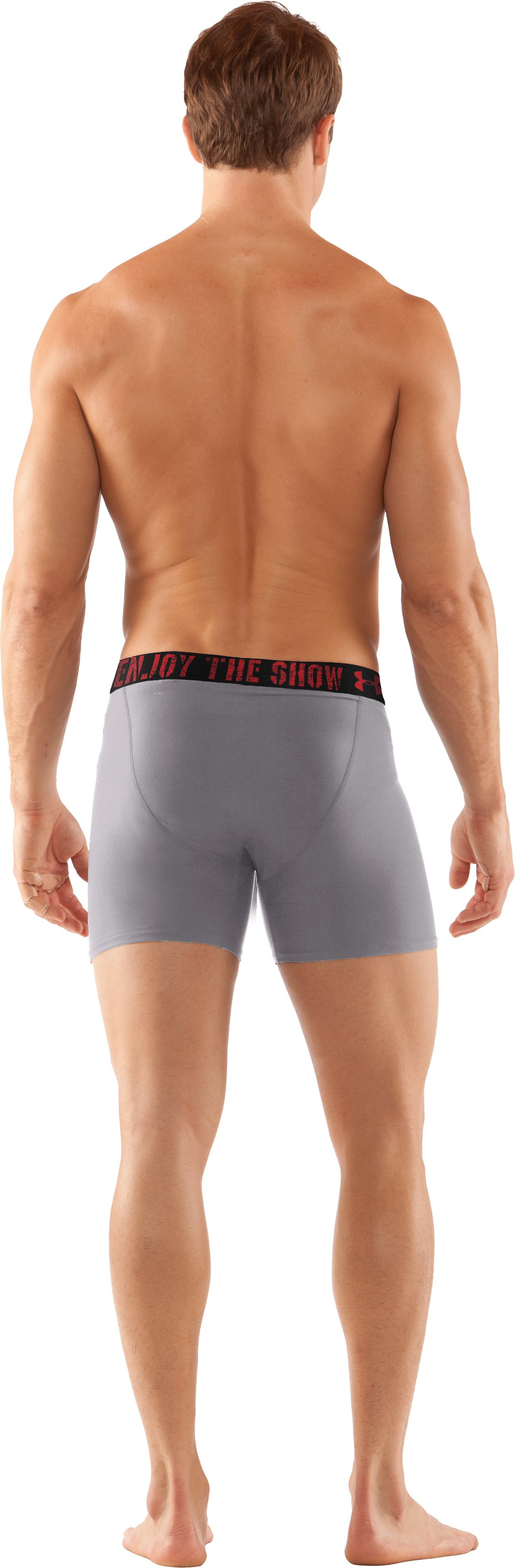 Men's UA Original Series Statement Boxerjock®, Concrete, Back