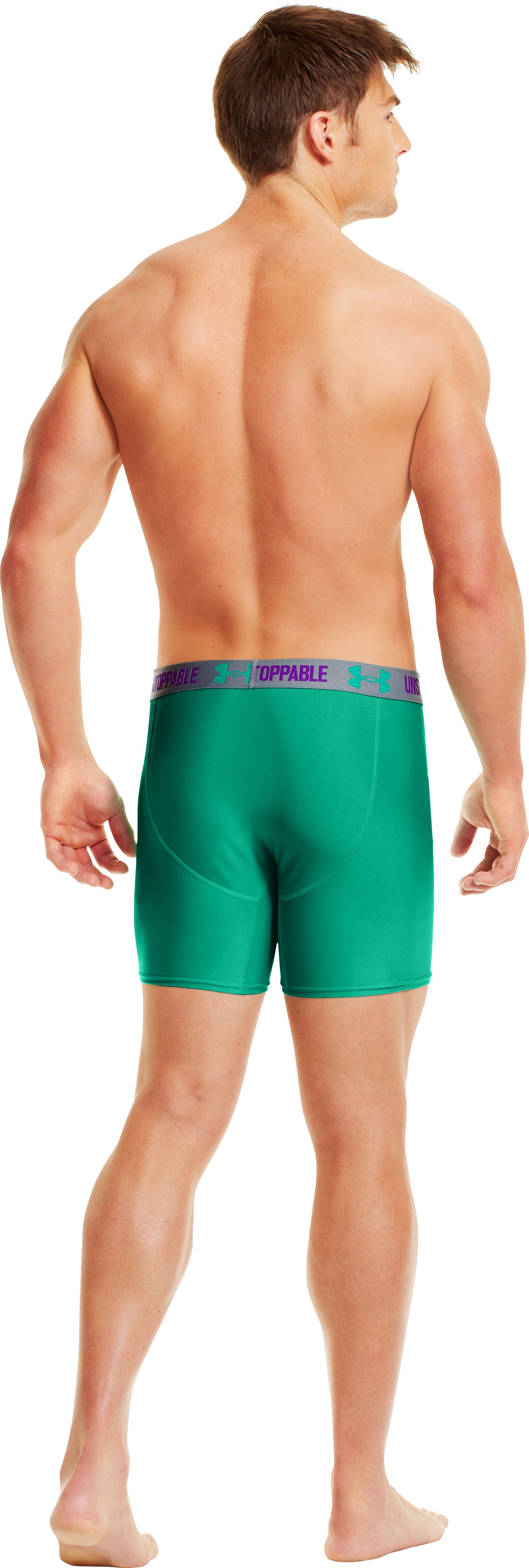 Men's Original Series Statement Boxerjock® Boxer Briefs, EMERALD LAKE, Back