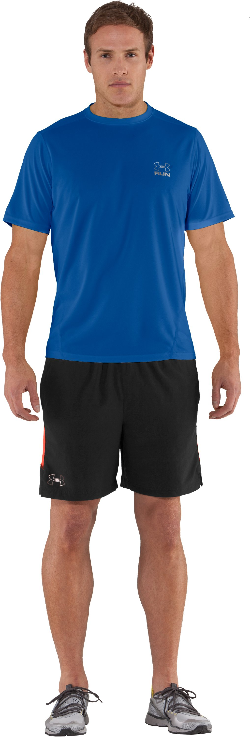 Men's UA Run HeatGear® Short Sleeve T-Shirt, Squadron