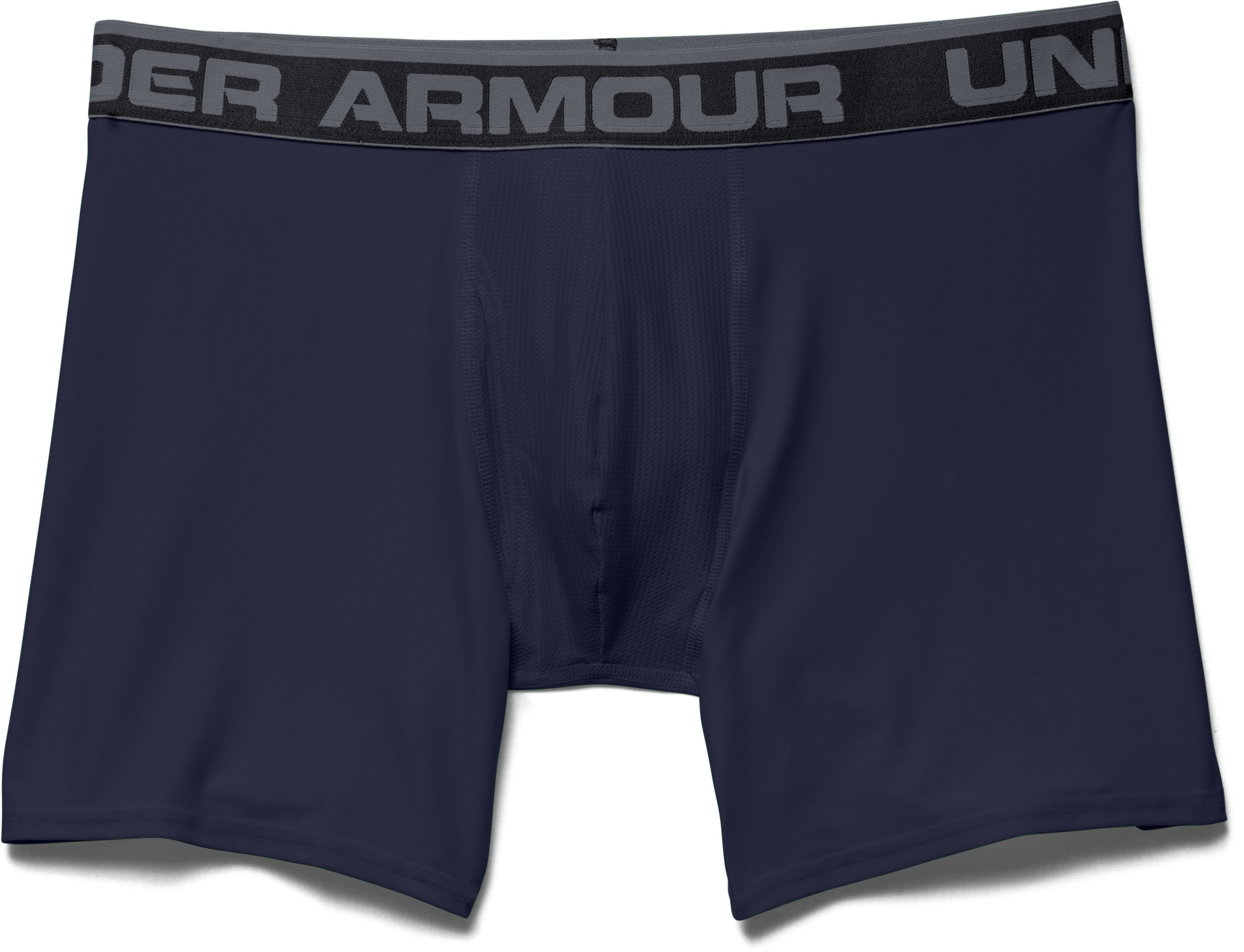 "Men's UA Original Series 6"" Boxerjock®, Midnight Navy, Laydown"