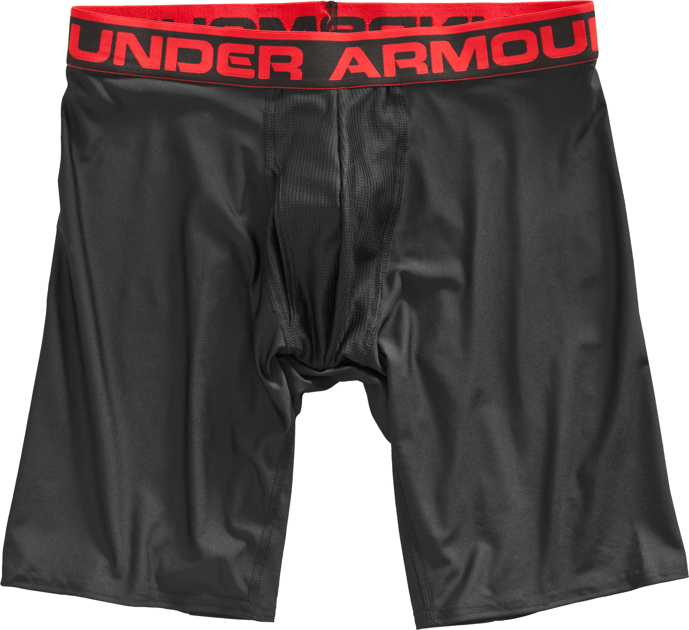 "Men's UA Original Series 9"" Boxerjock®, Black , undefined"