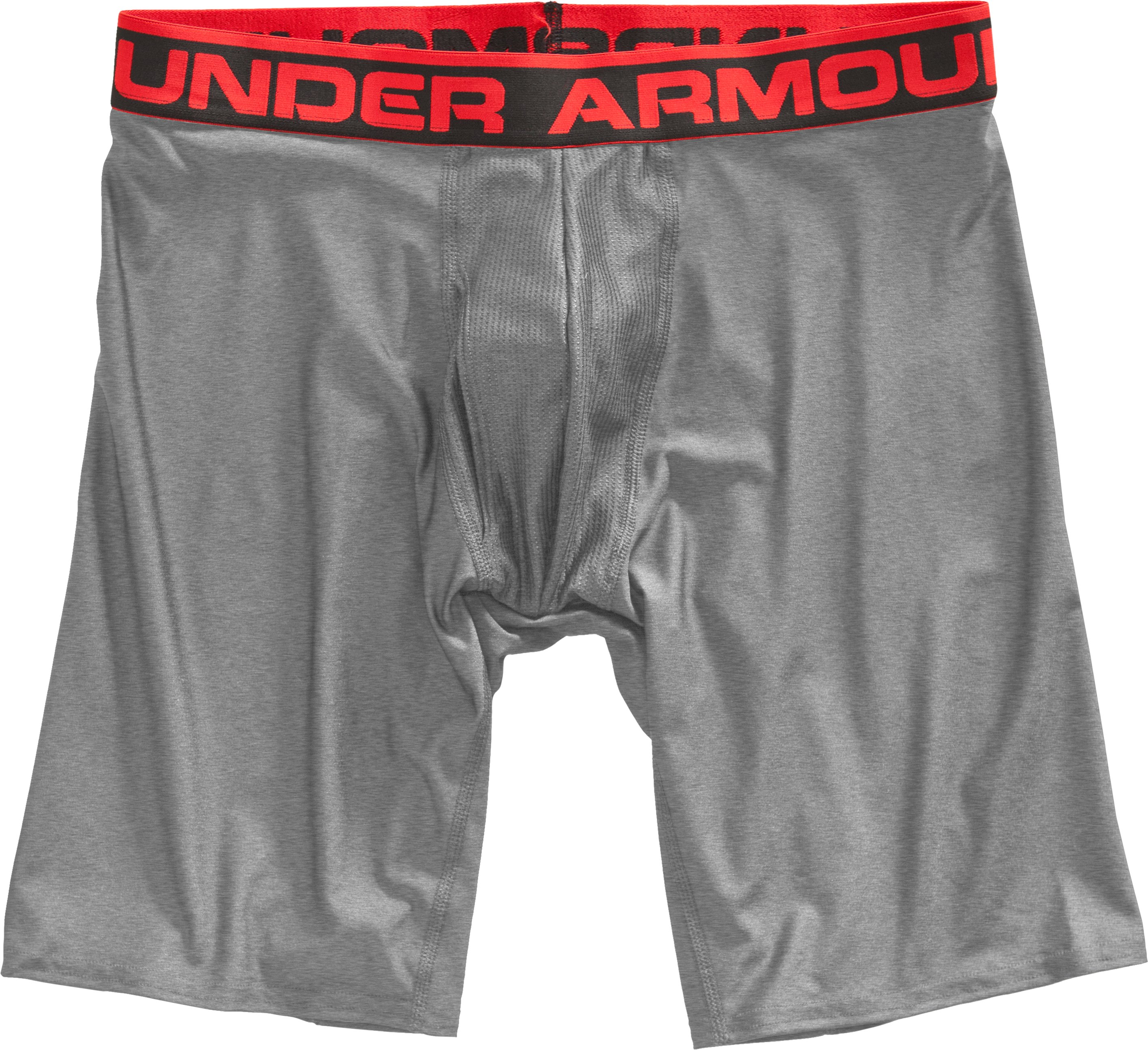 "Men's UA Original Series 9"" Boxerjock®, True Gray Heather"