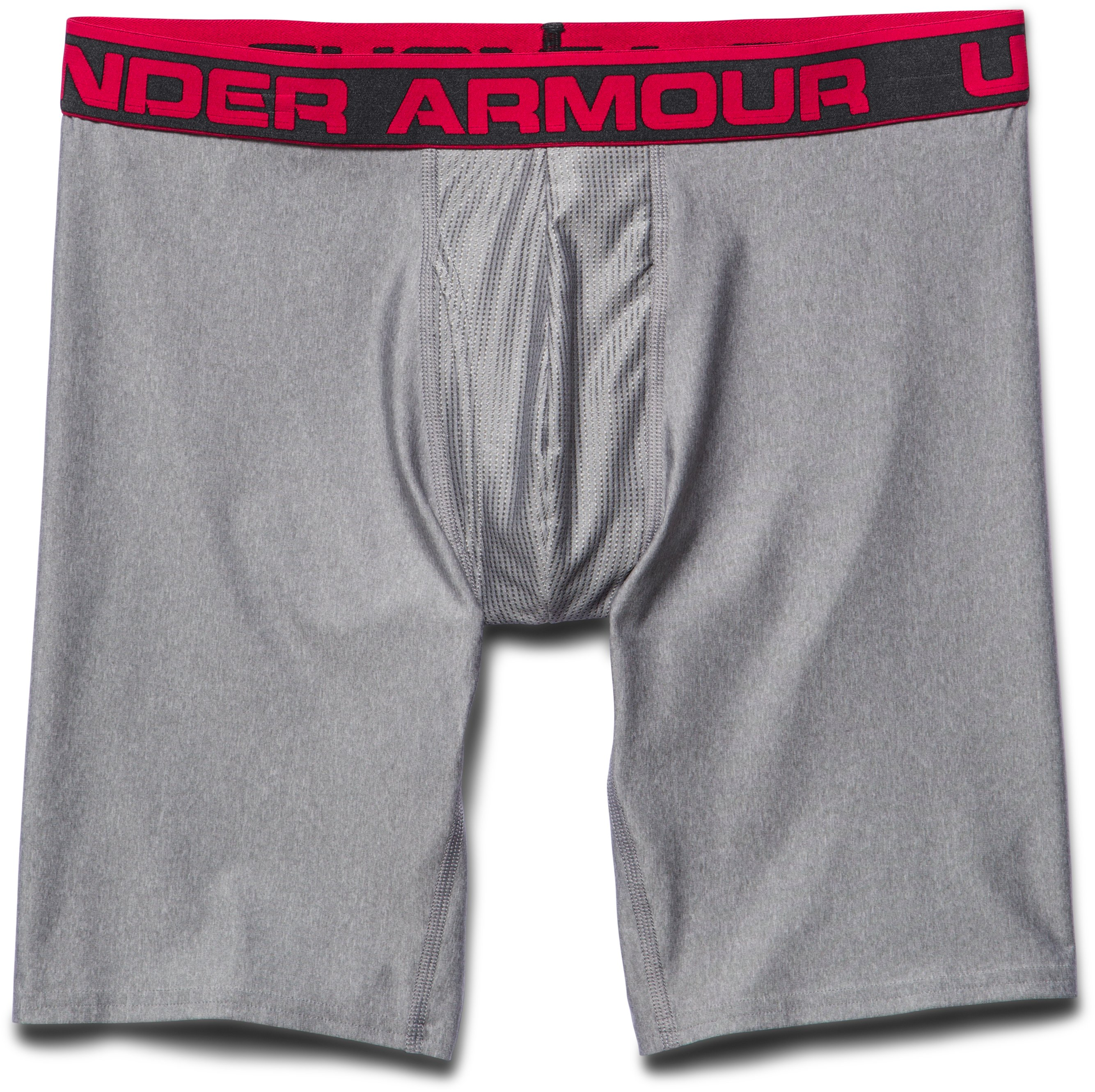"Men's UA Original Series 9"" Boxerjock®, True Gray Heather, Laydown"