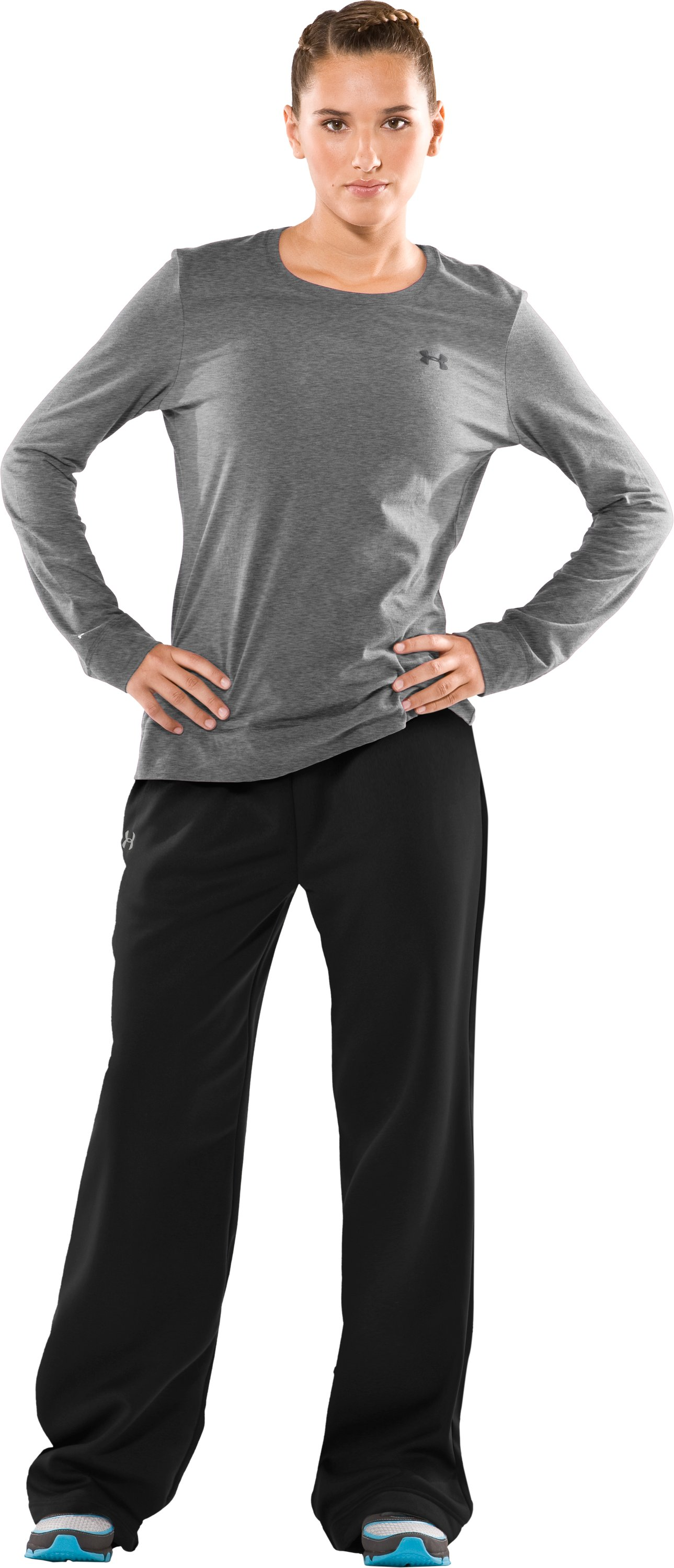 "Women's 34"" Trophy Pants - Tall, Black , Front"