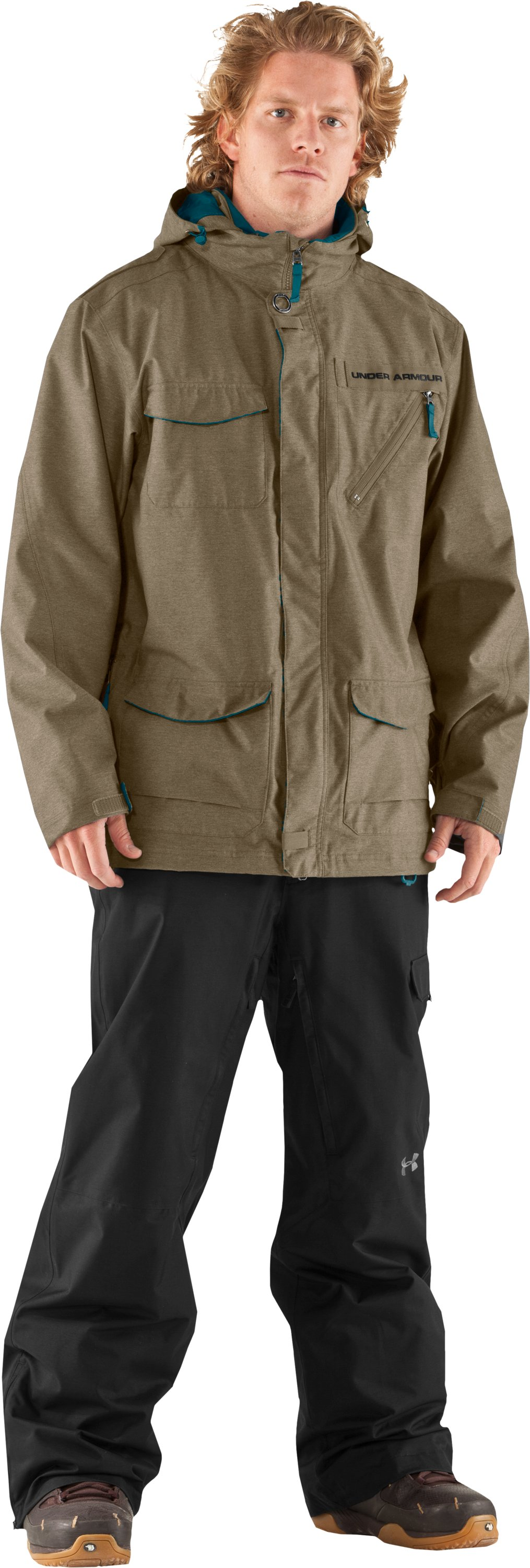 Men's UA Jackal Jacket, Barley
