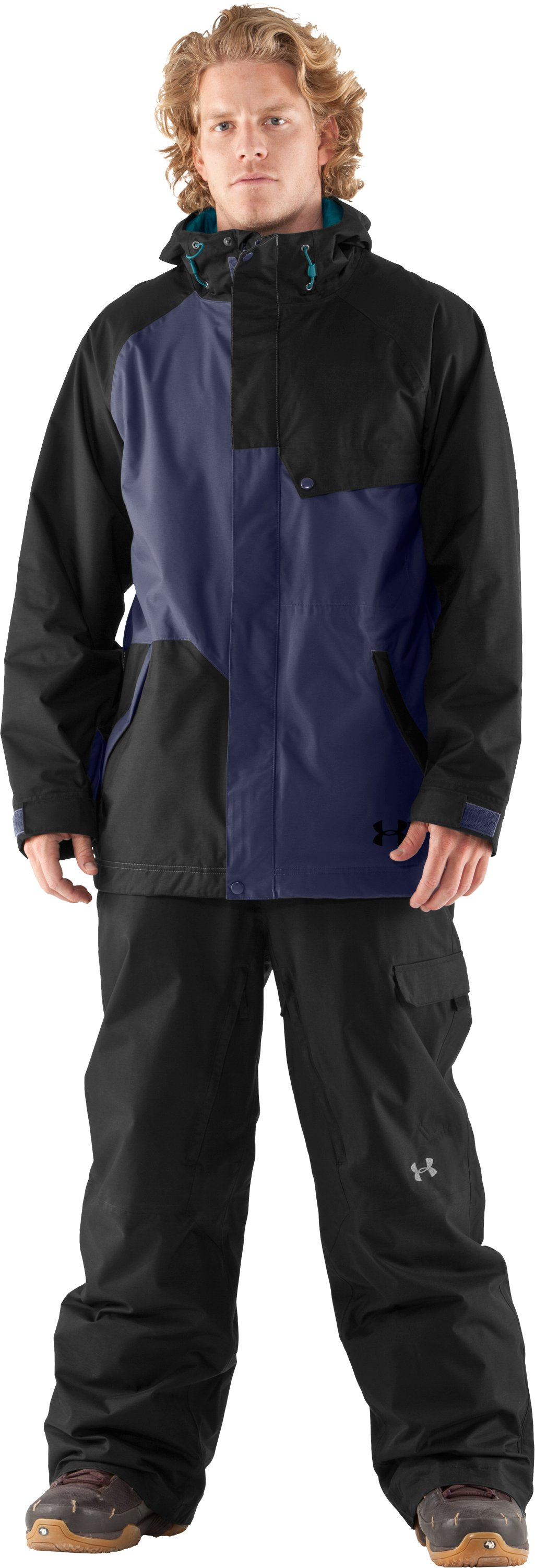 Men's UA Unchained Jacket, Black , Front