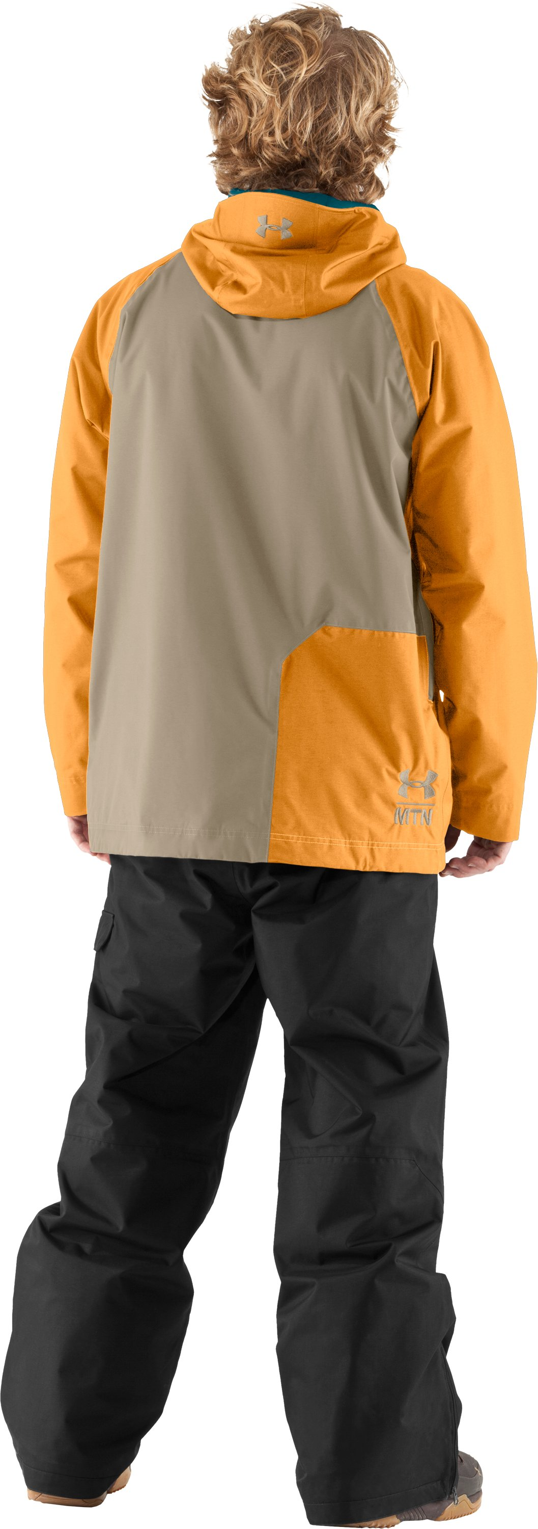 Men's UA Unchained Jacket, Rise, Back