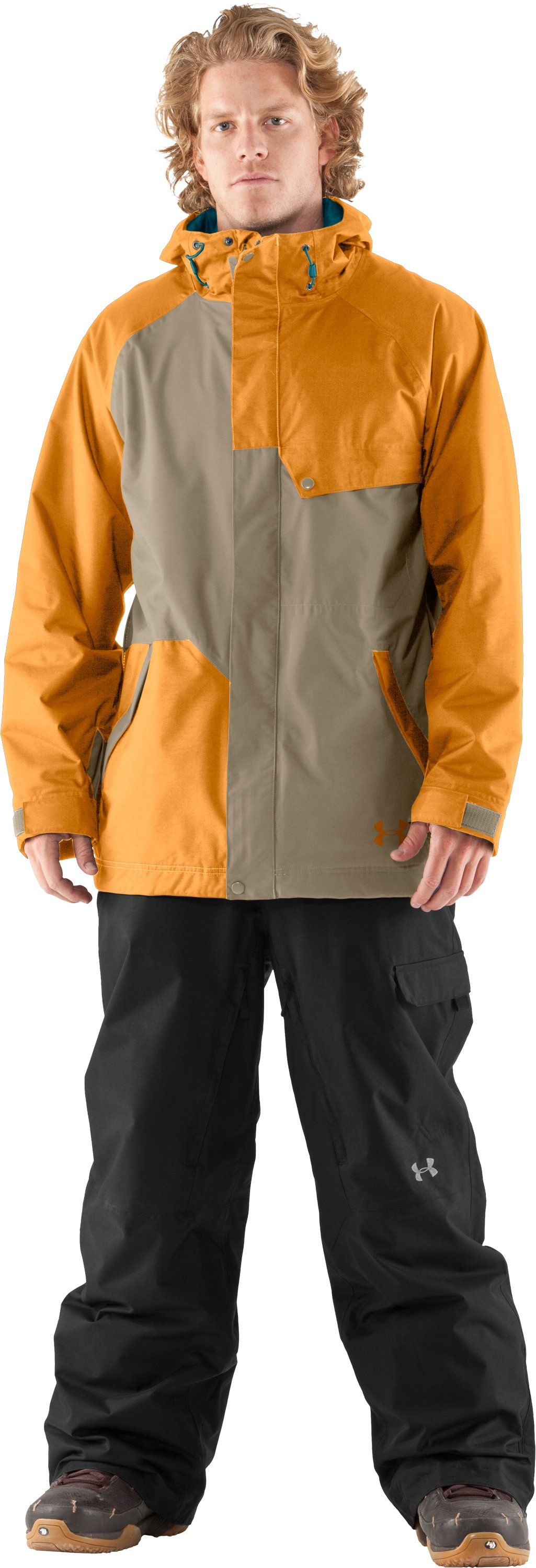 Men's UA Unchained Jacket, Rise, Front