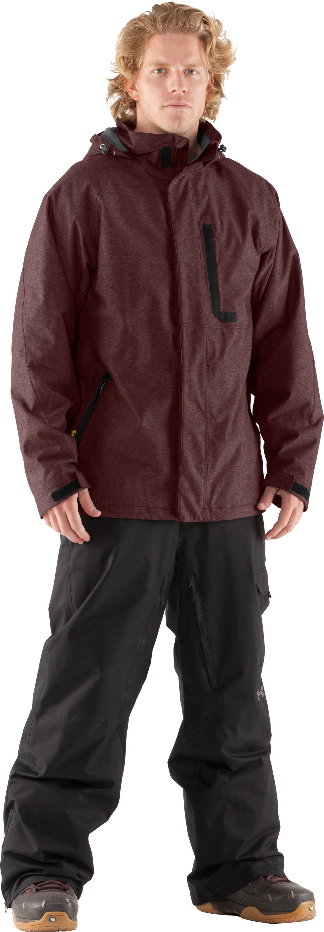 Men's UA Sandman Jacket, Prune, Front