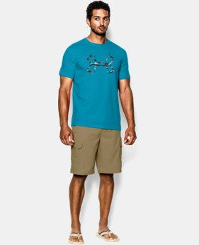Men's UA Fish Hook Logo T-Shirt LIMITED TIME: FREE U.S. SHIPPING 1 Color $24.99