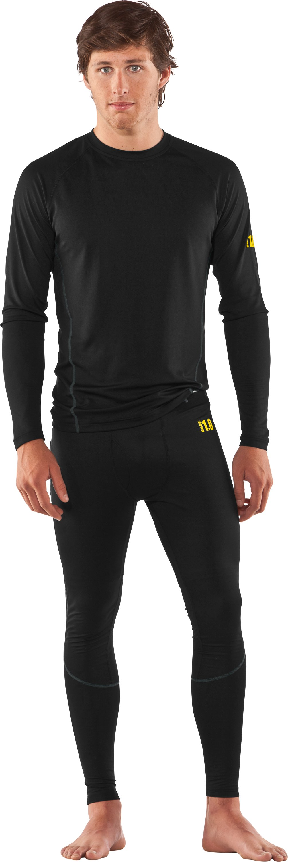 Men's UA Base™ 1.0 Leggings, Black