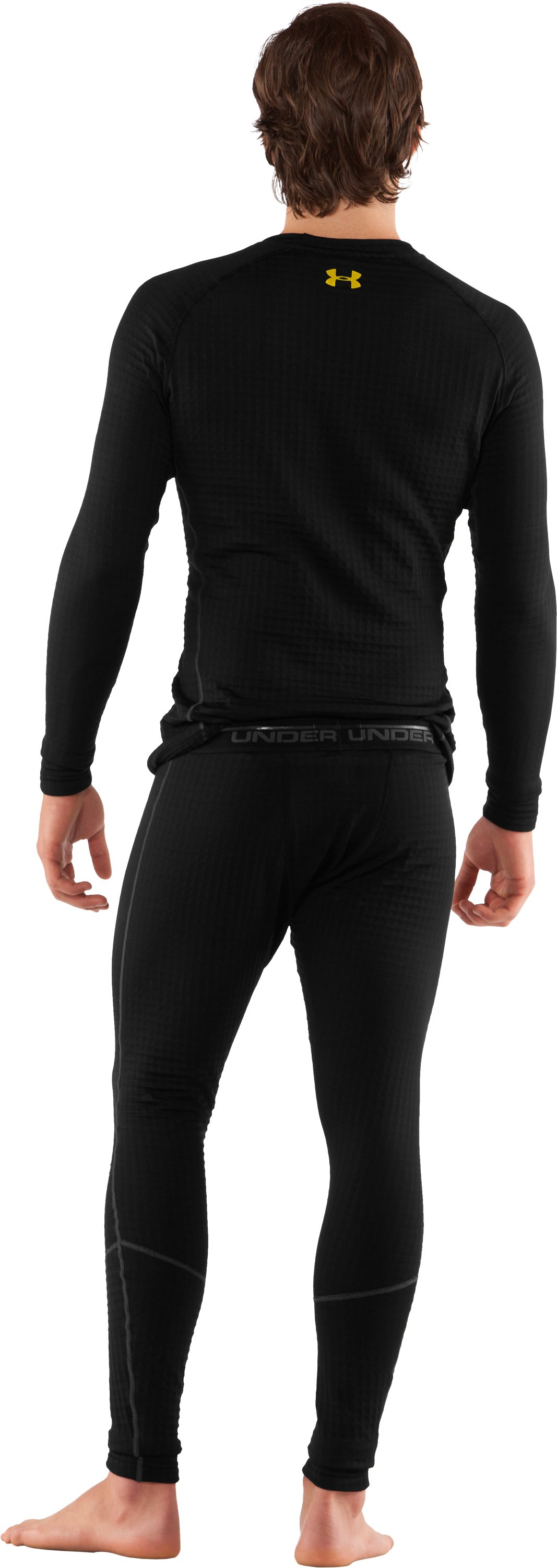 Men's UA Base™ 4.0 Leggings, Black , Back