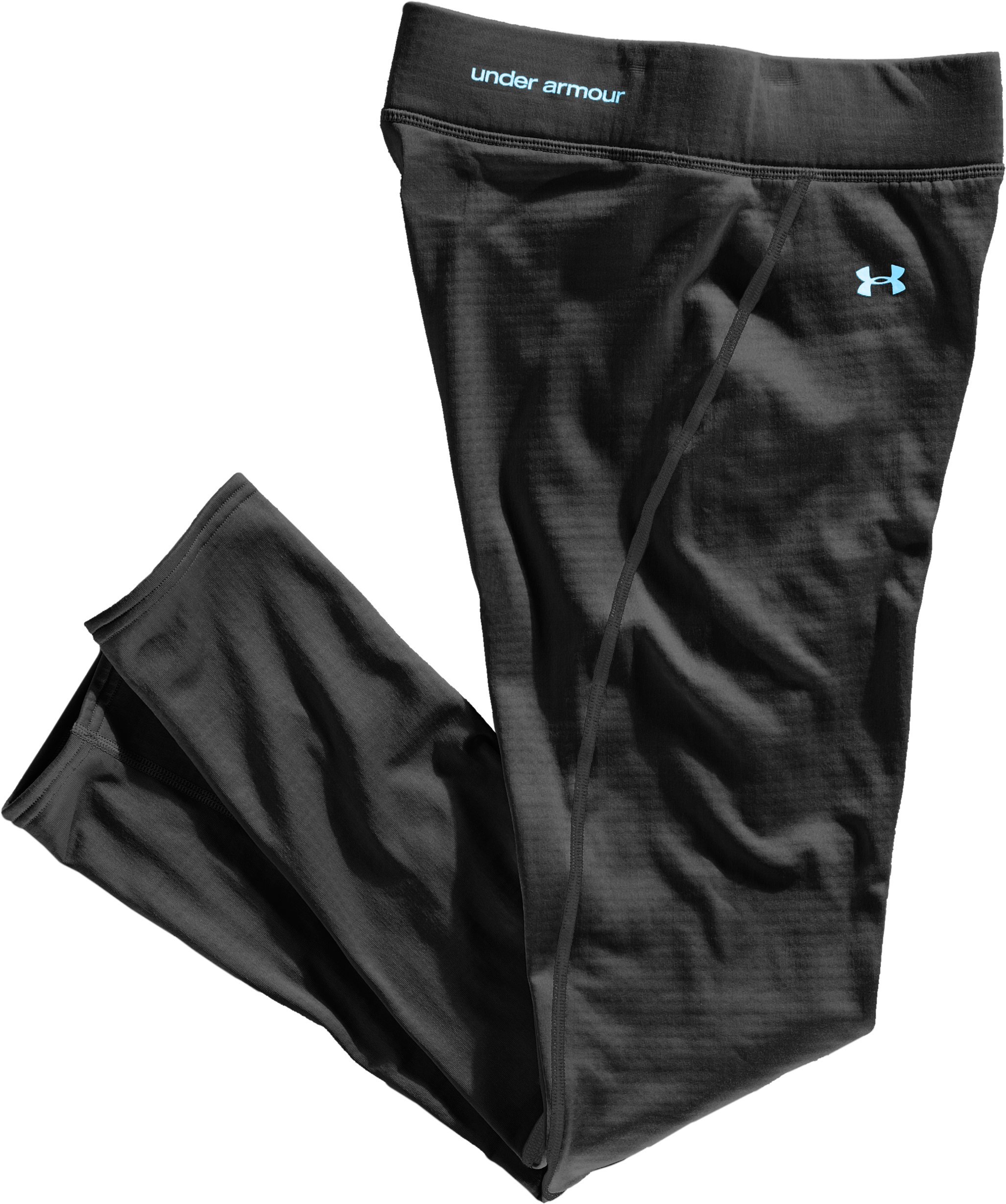 Women's UA Base™ 2.0 Leggings, Black , Laydown