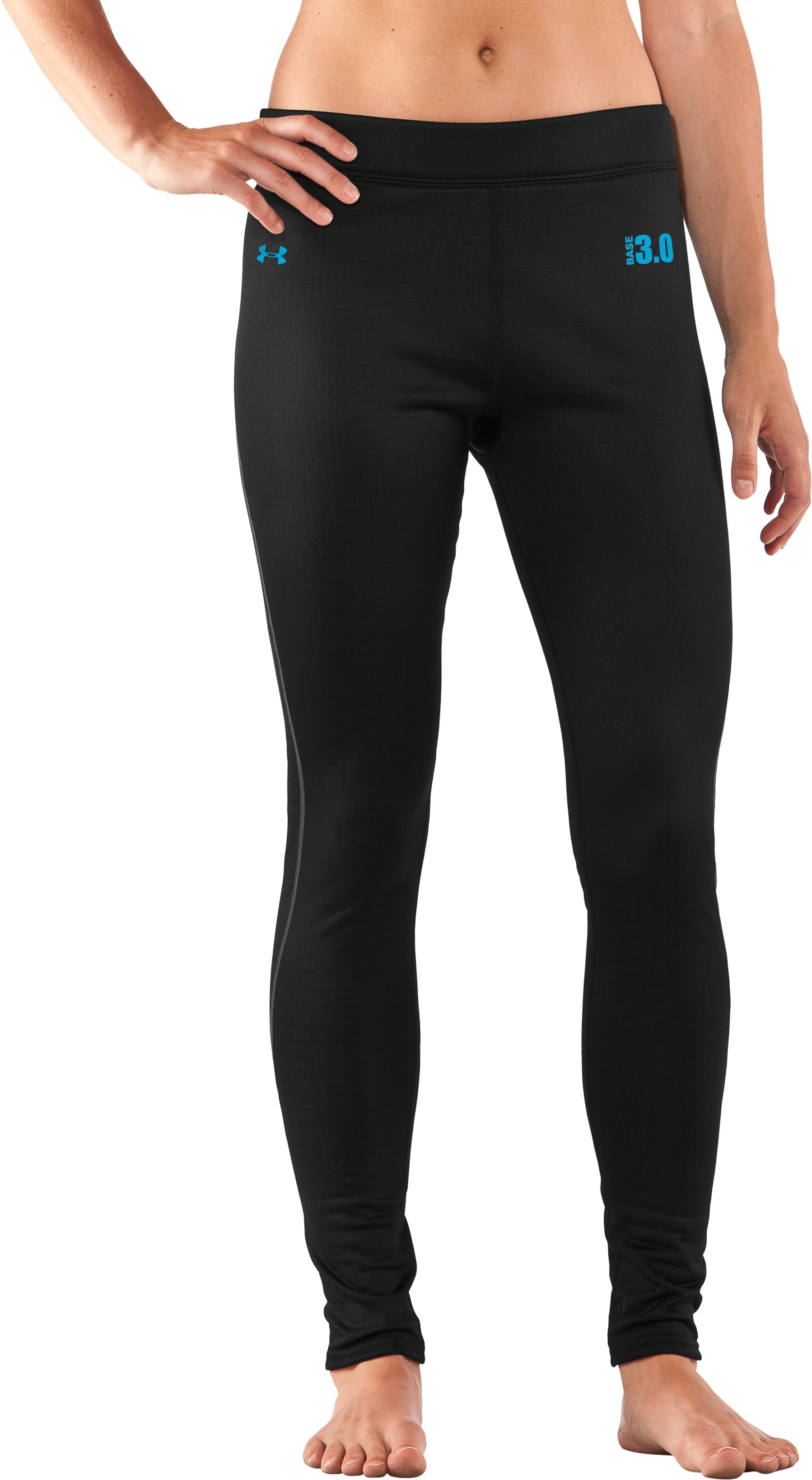 Women's UA Base™ 3.0 Leggings, Black , zoomed image