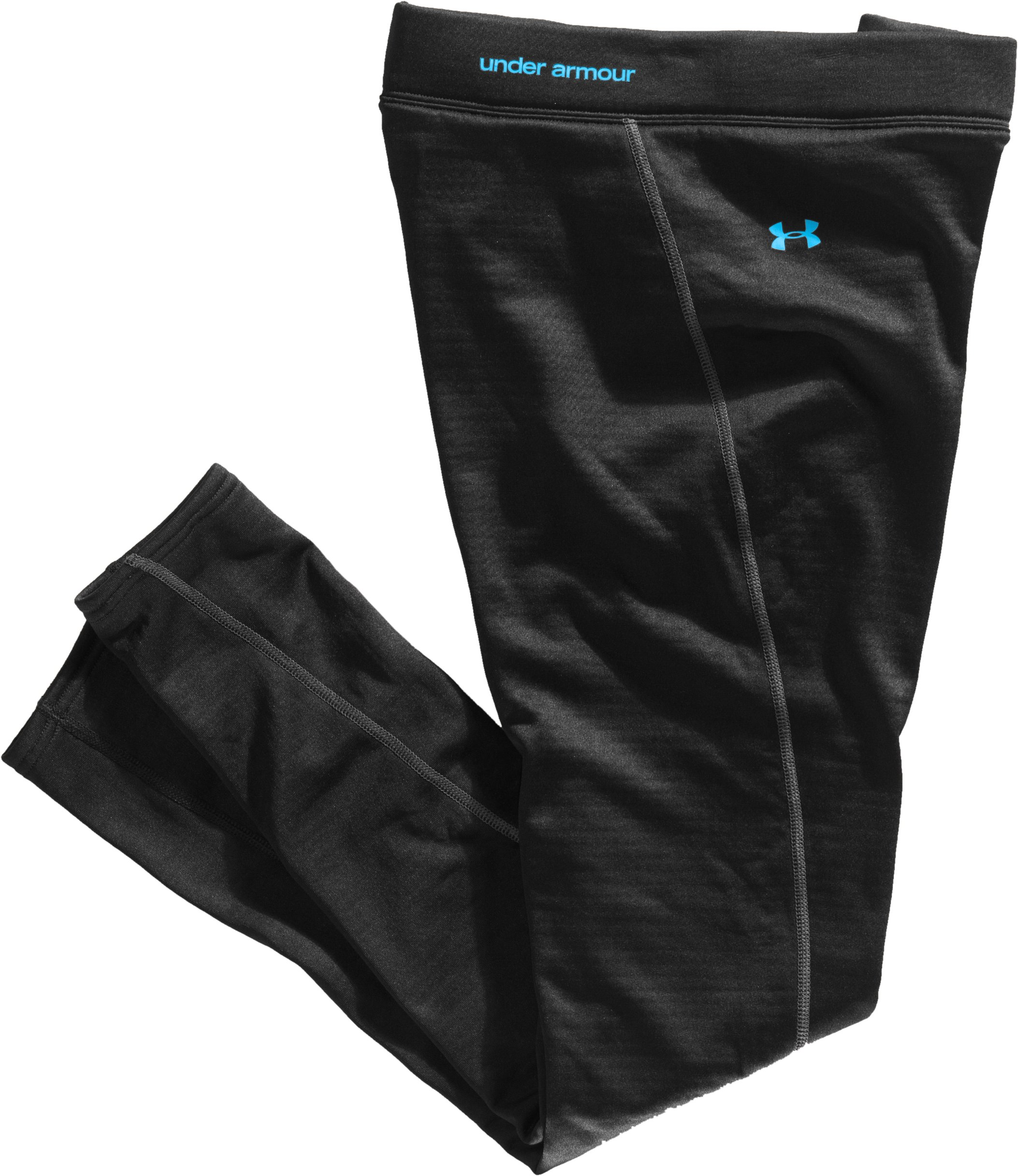 Women's UA Base™ 3.0 Leggings, Black , Laydown