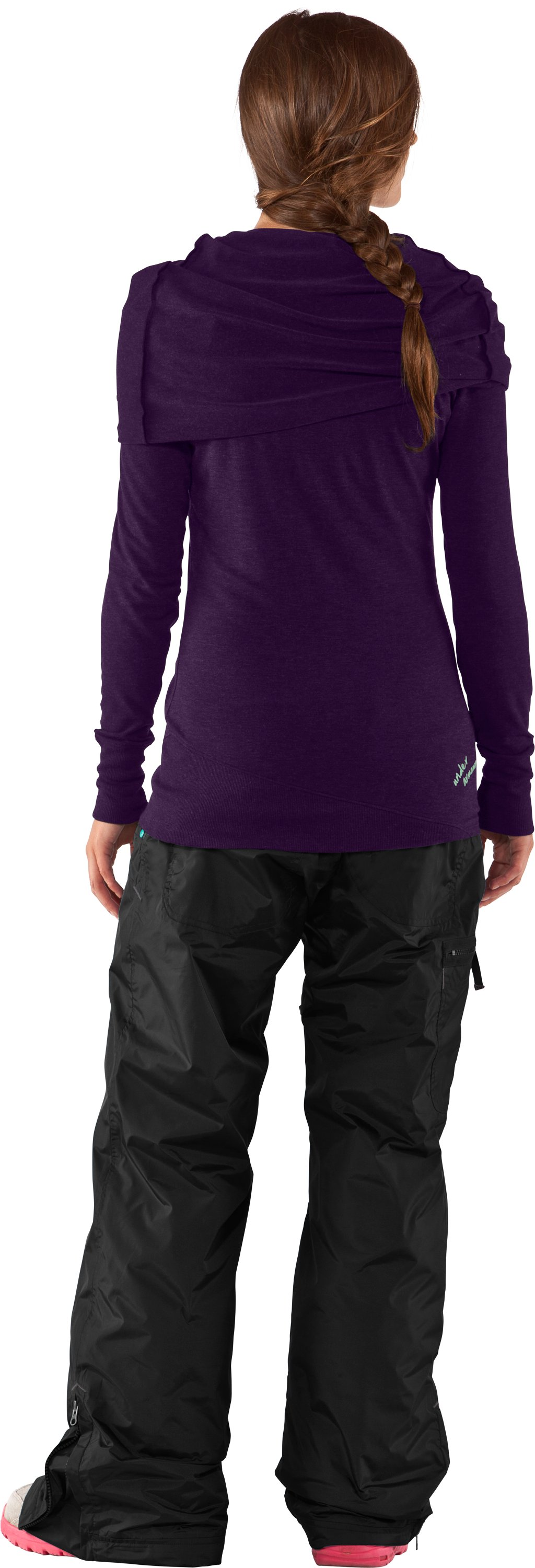 Women's Sheep's Clothing Hoodie, Purple Rain, Back