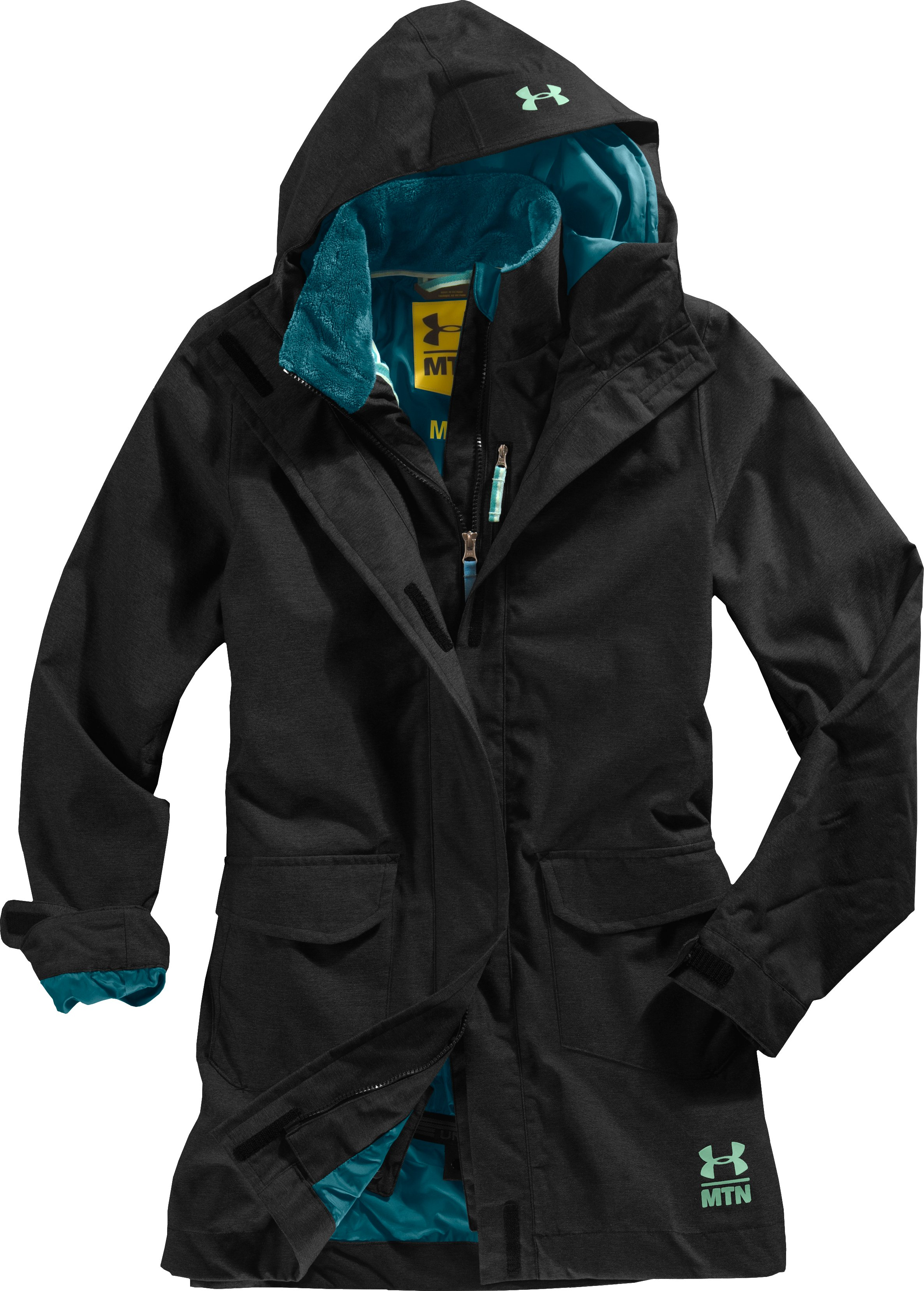 Women's After Forever Shell Jacket, Black , Laydown