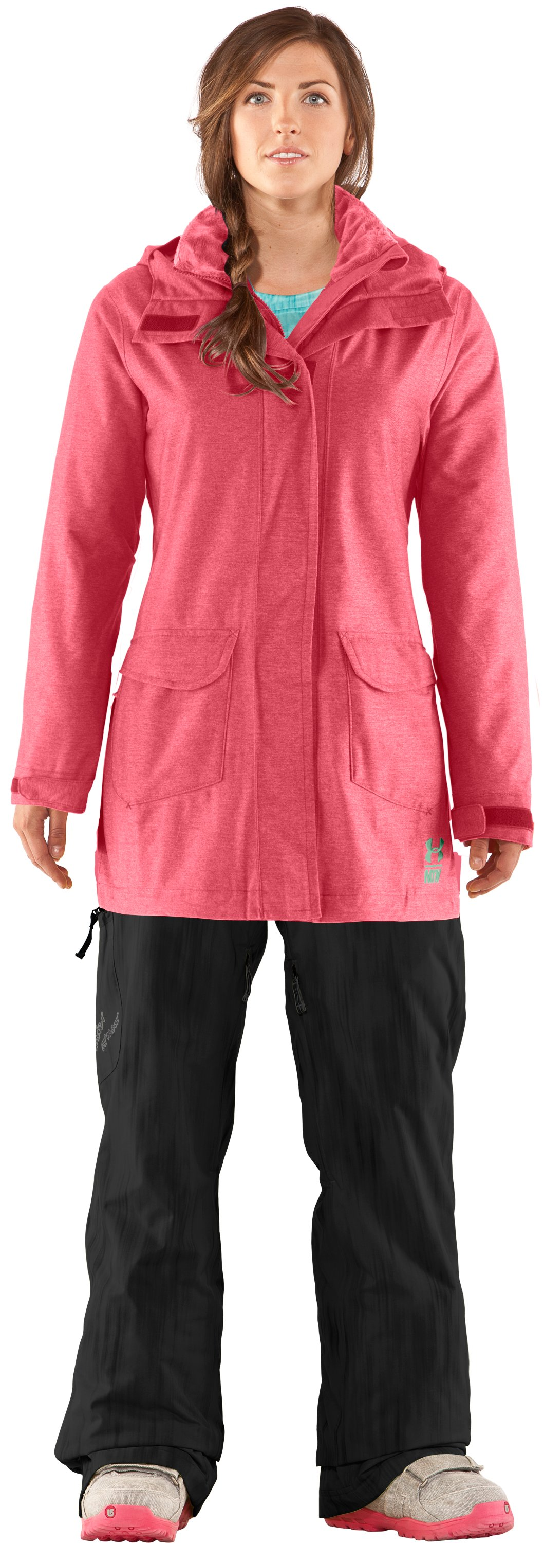 Women's After Forever Shell Jacket, Daiquiri, Front