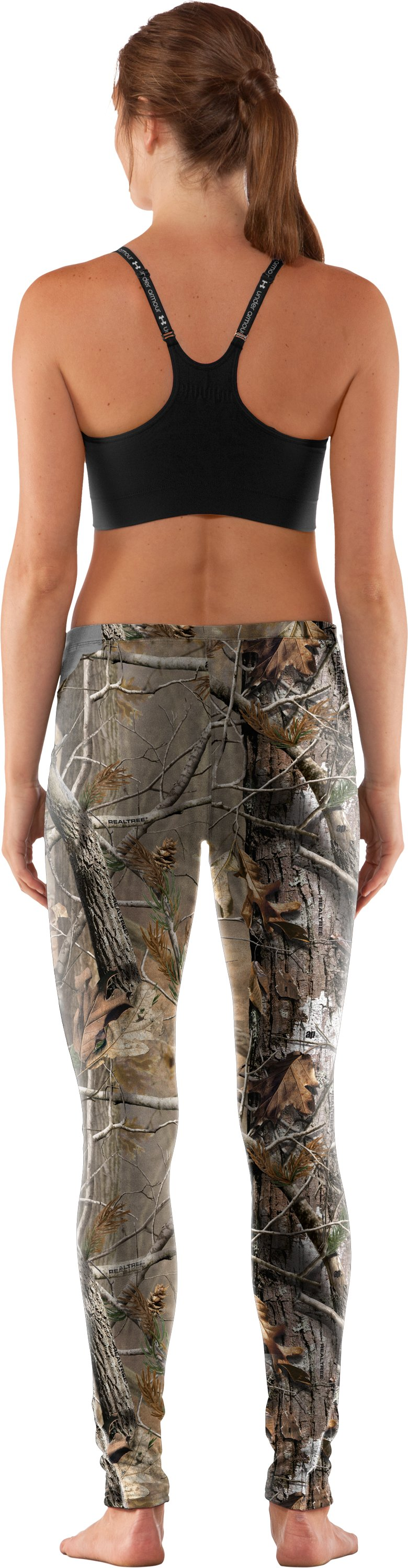 Women's EVO Scent Control Leggings, Realtree AP, Back