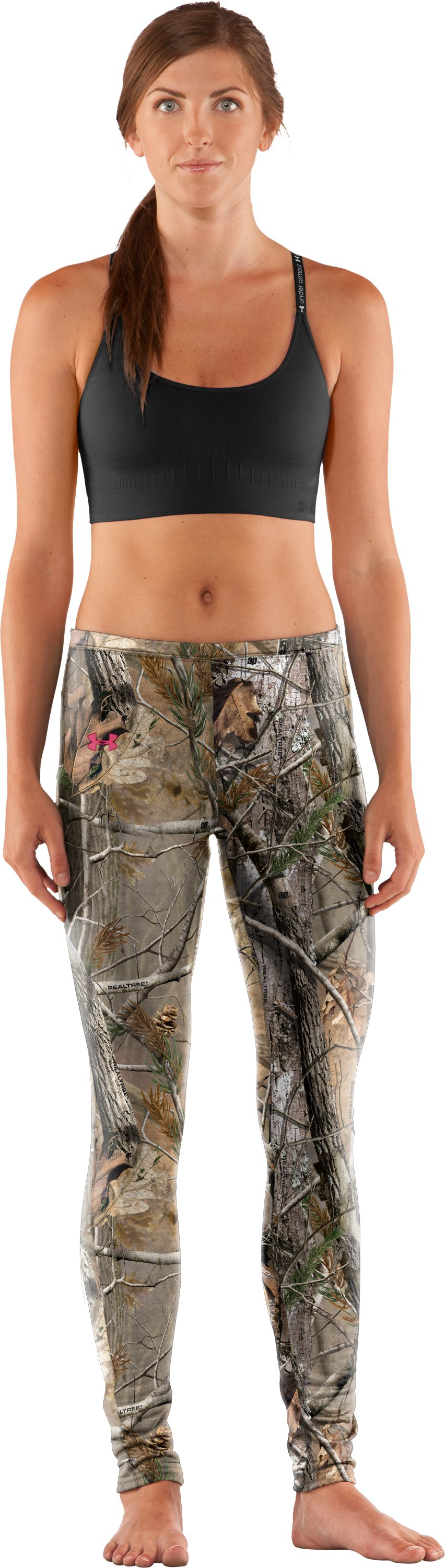 Women's EVO Scent Control Leggings, Realtree AP, zoomed image