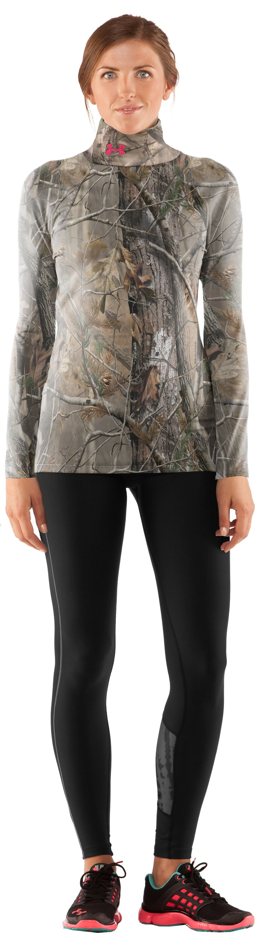 Women's EVO Scent Control Mock, Realtree AP, zoomed image