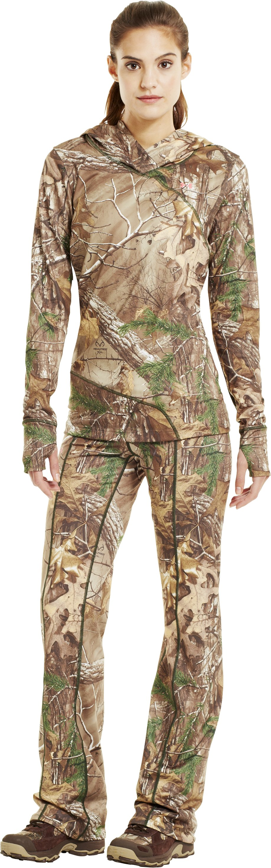 Women's EVO Scent Control Pant, REALTREE AP-XTRA, Front