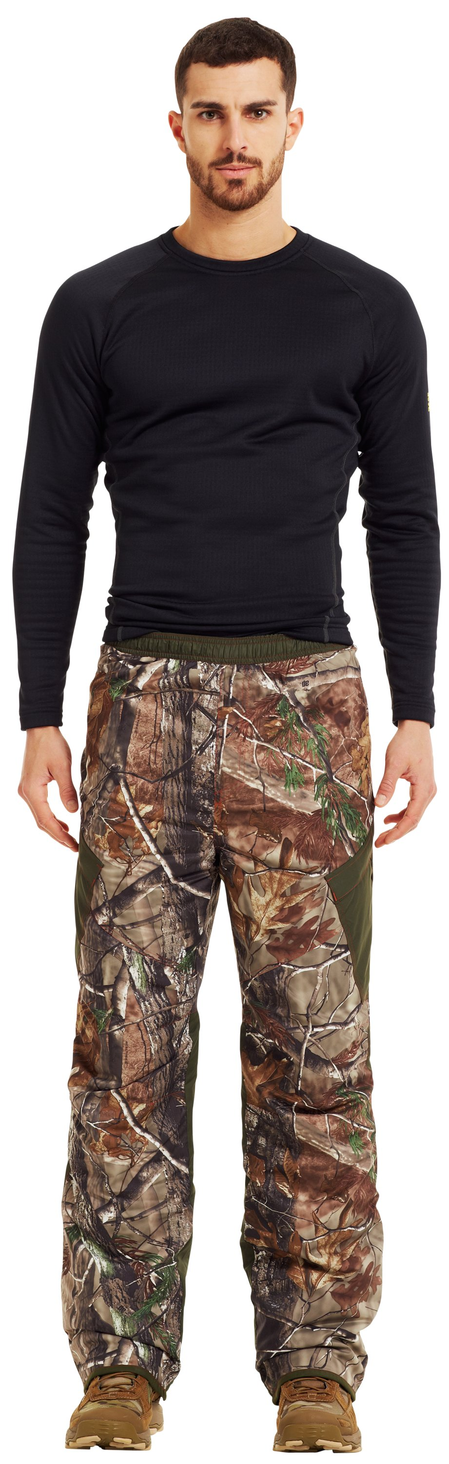 Men's ColdGear® Infrared Ridge Reaper® Primaloft® Pants, REALTREE AP-XTRA, Front