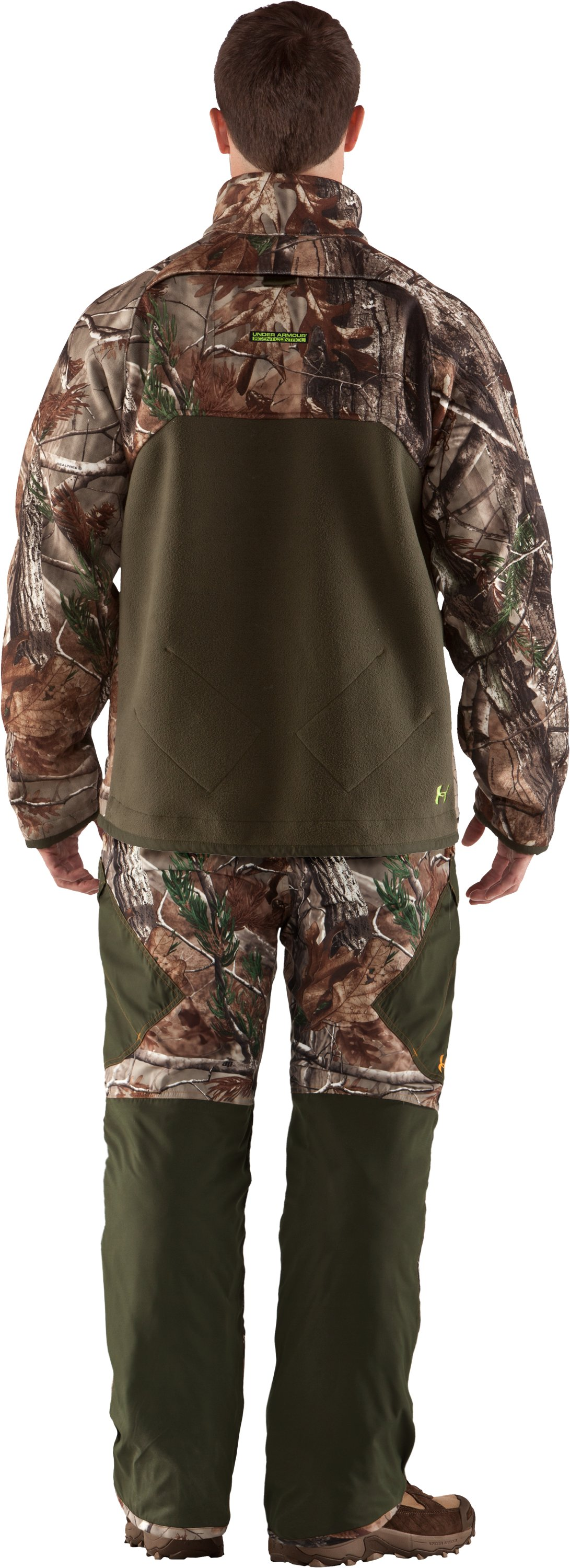 Men's UA Rut Scent Control Jacket, Realtree AP, Back
