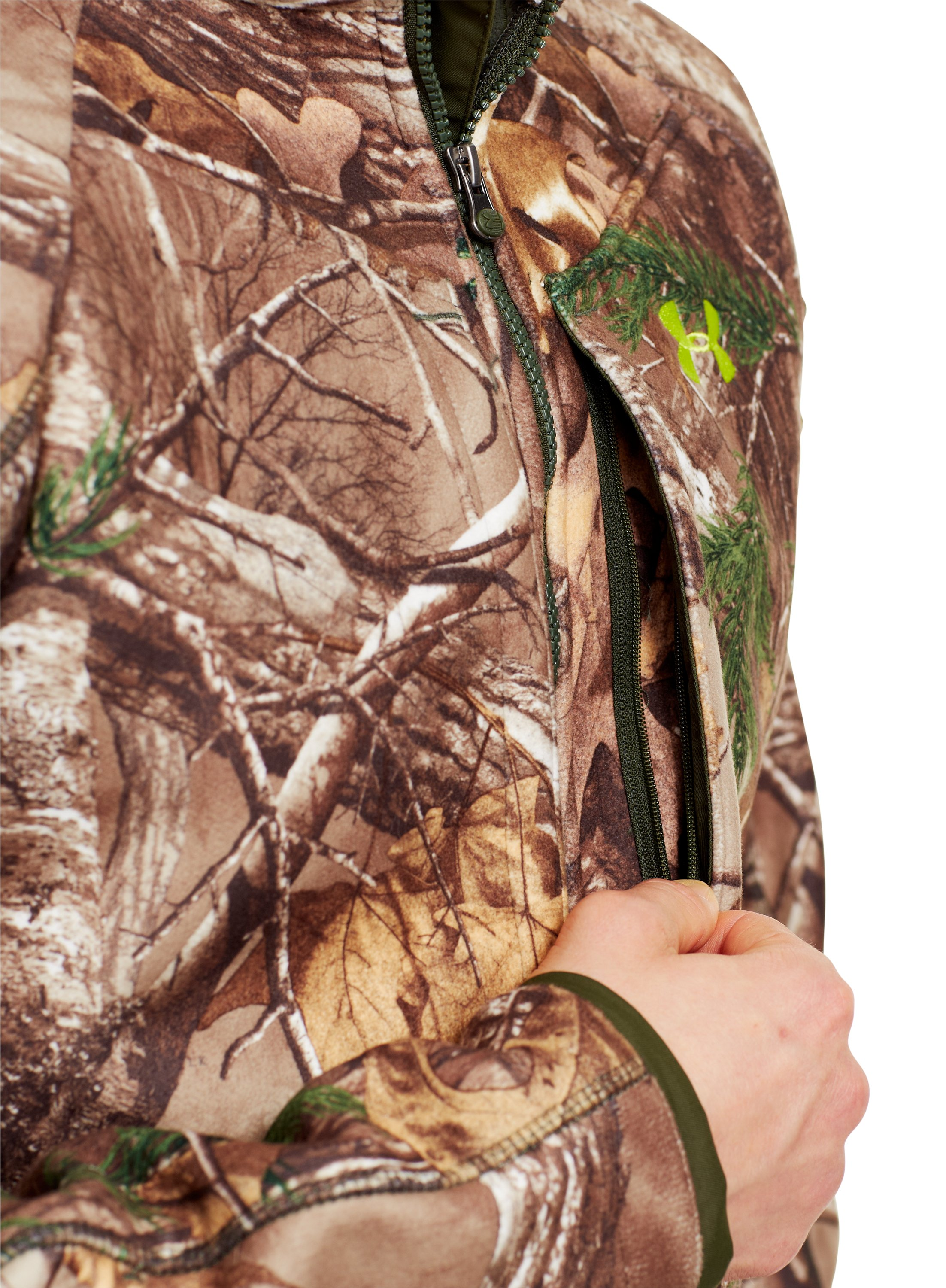 Men's UA Rut Scent Control Jacket, Realtree AP