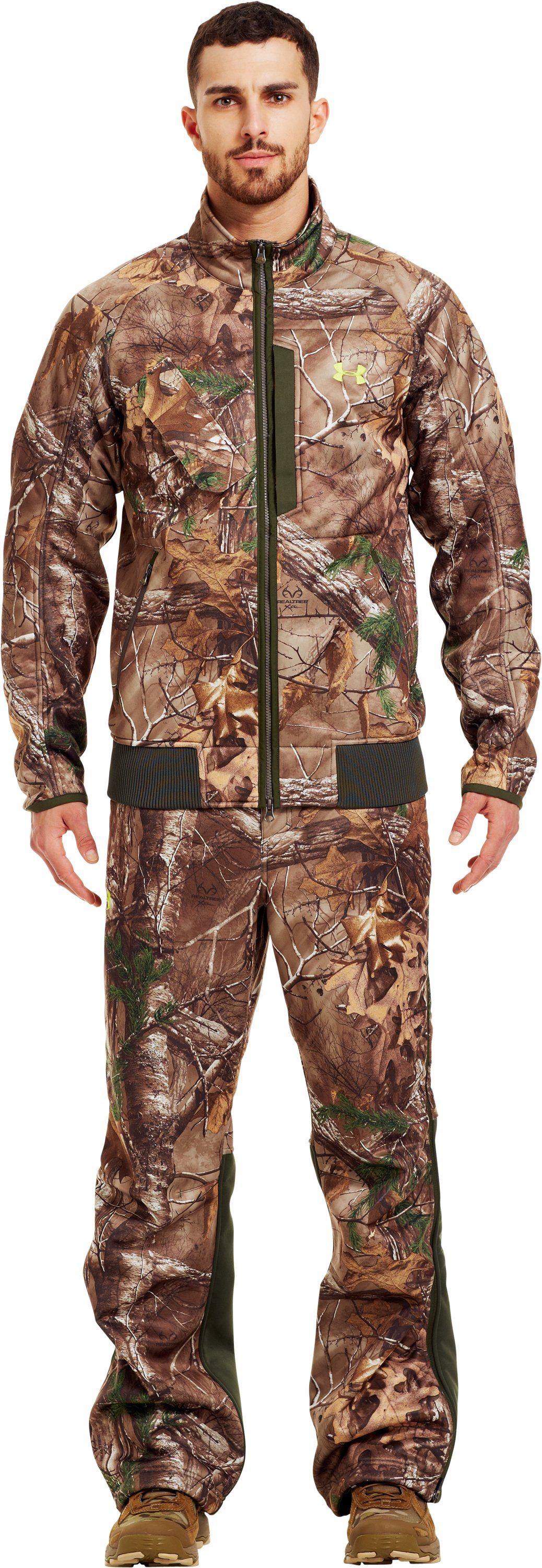 Men's UA Deadcalm Scent Control Jacket, REALTREE AP-XTRA
