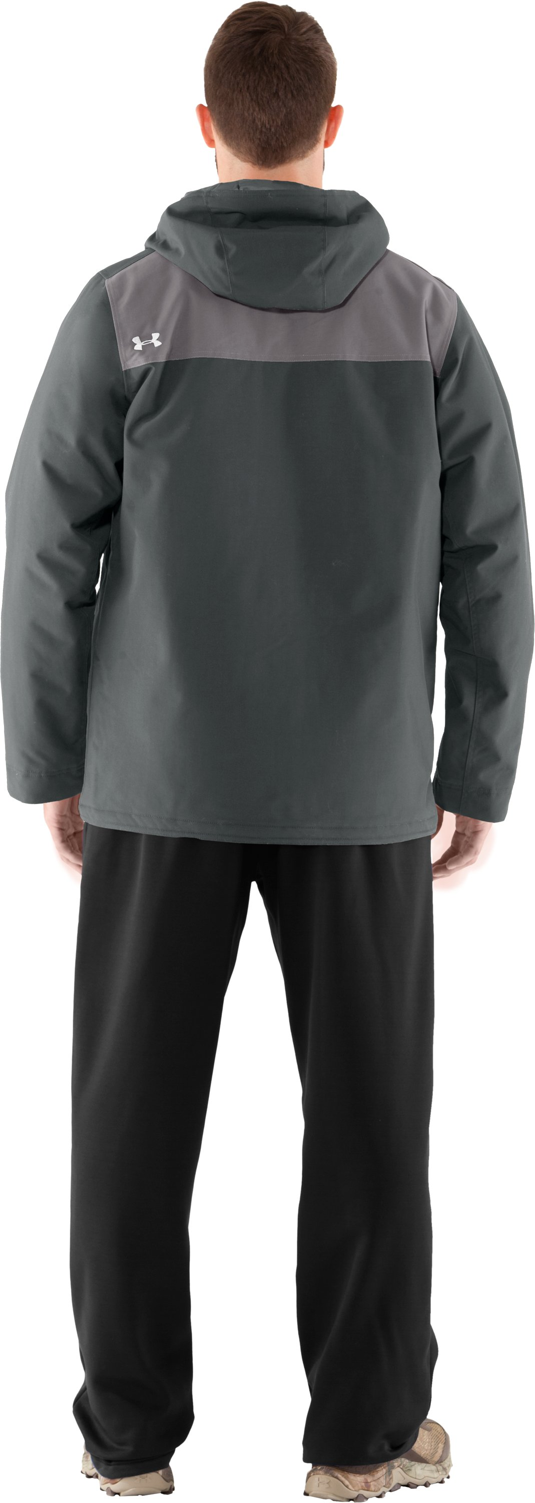 Men's UA Platoon Field Jacket, Battleship, Back