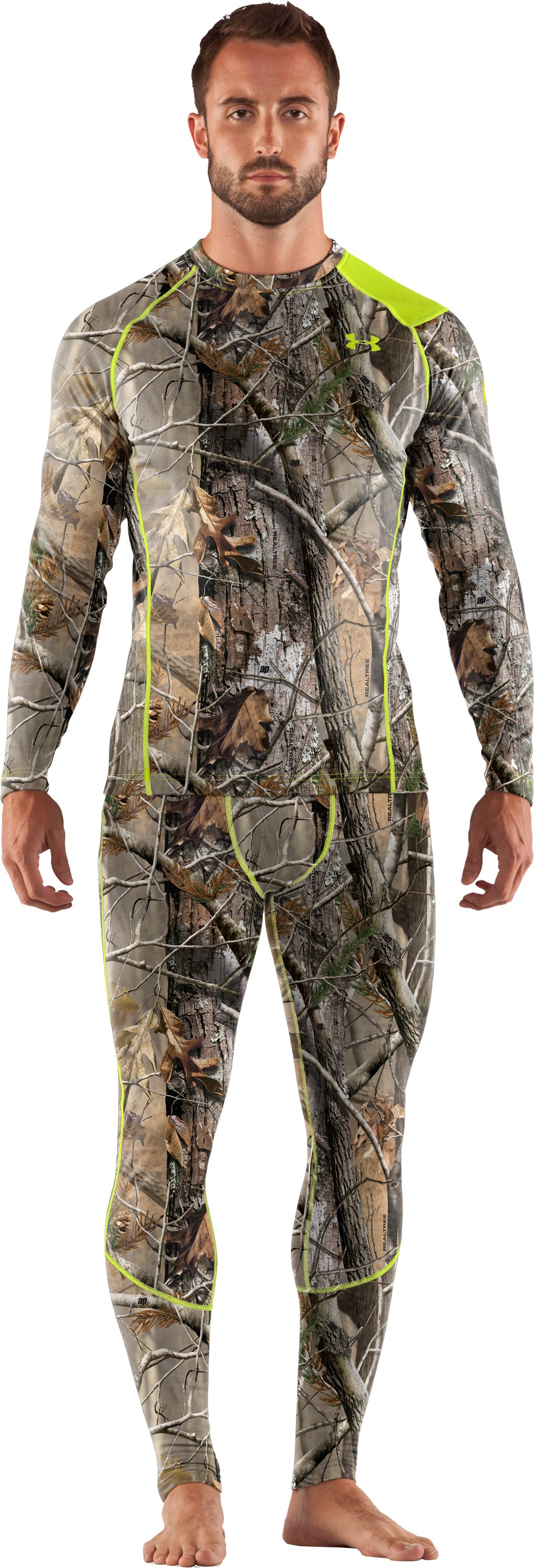 Men's UA Base™ 2.0 Scent Control Crew, Realtree AP