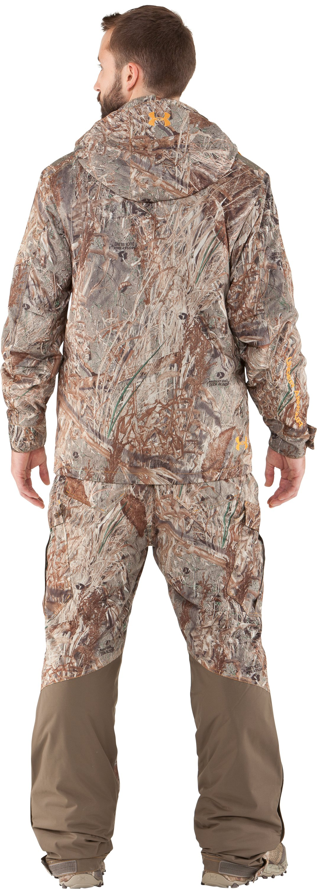 Men's UA Skysweeper Systems 3-in-1 Jacket, Duck Blind, Back
