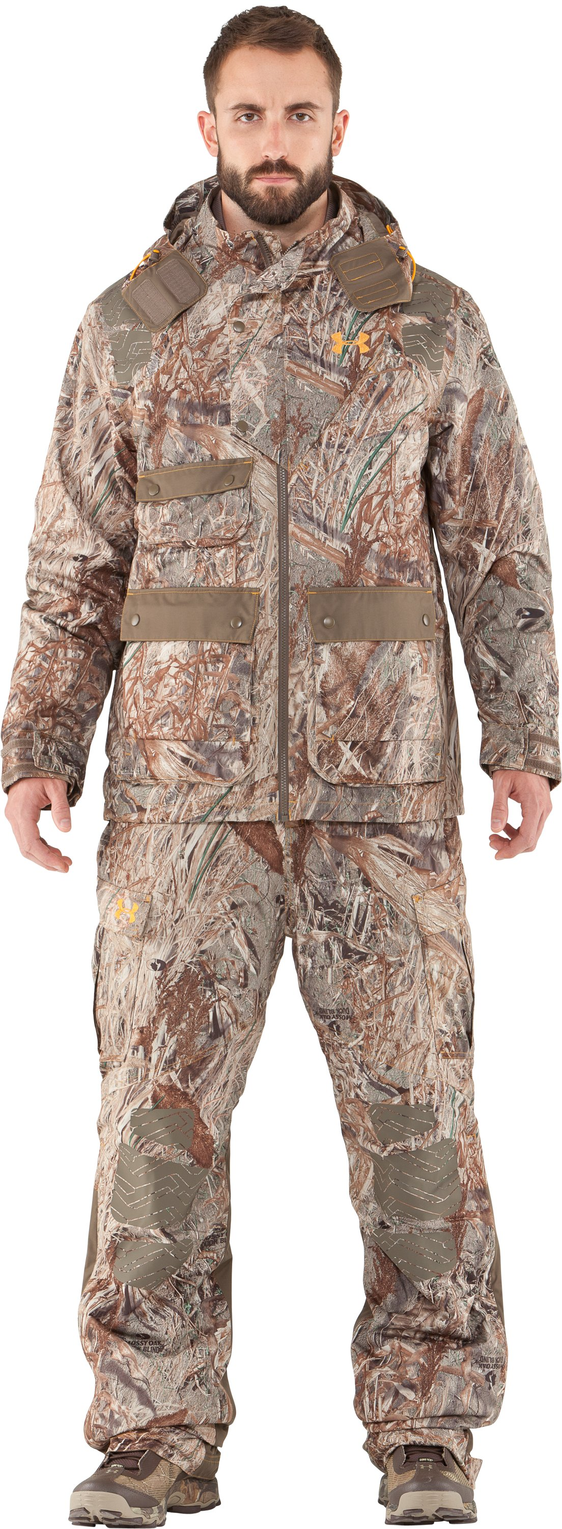 Men's UA Skysweeper Systems 3-in-1 Jacket, Duck Blind, Front
