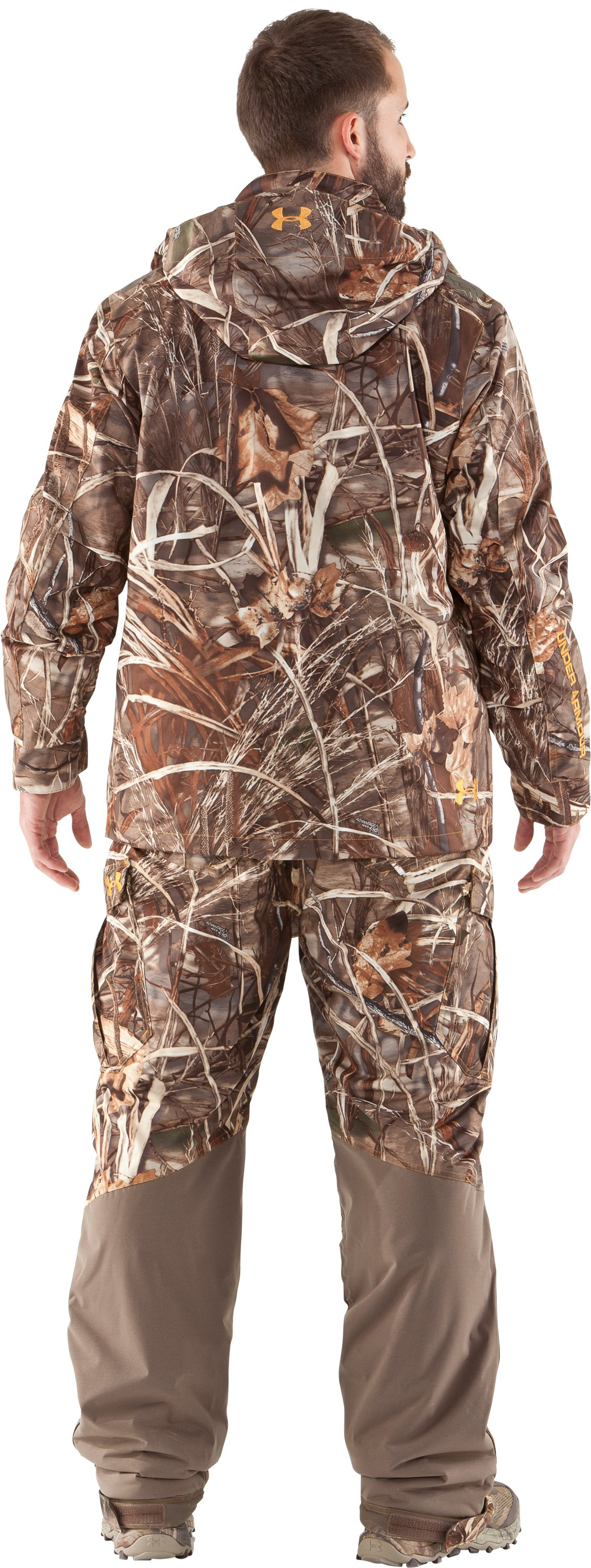 Men's UA Skysweeper Systems 3-in-1 Jacket, Realtree Max, Back