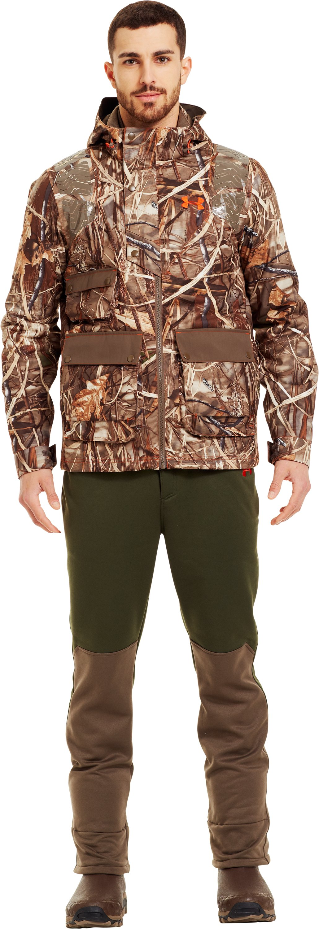 Men's UA Skysweeper Systems 3-in-1 Jacket, Realtree Max, Front
