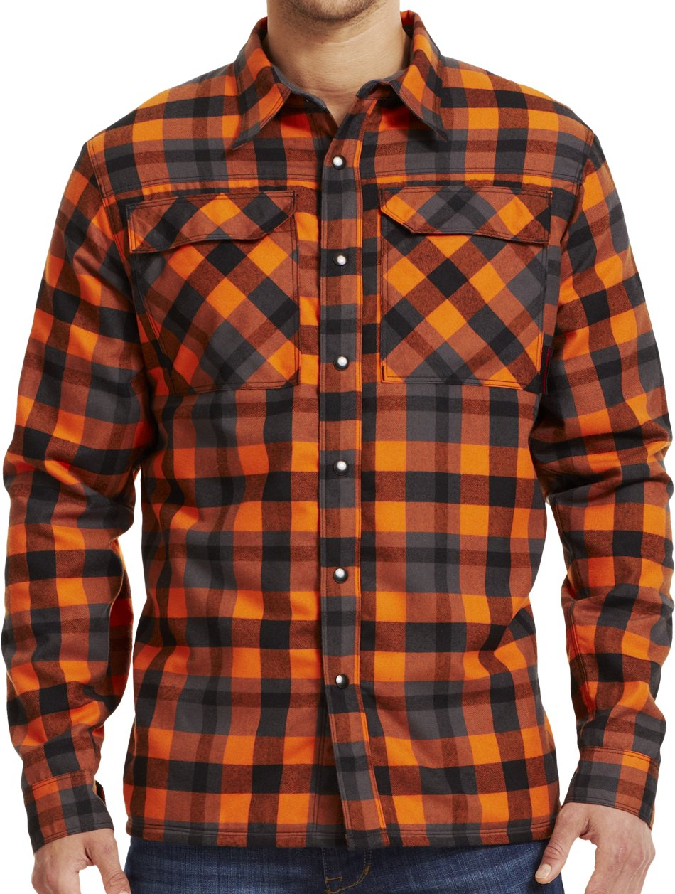 Men's UA Lined Shirt-Jacket, FLUX