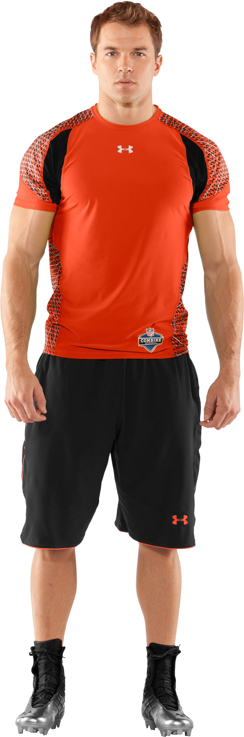 Men's NFL Combine Authentic Warp Speed Fitted Short Sleeve, Explosive