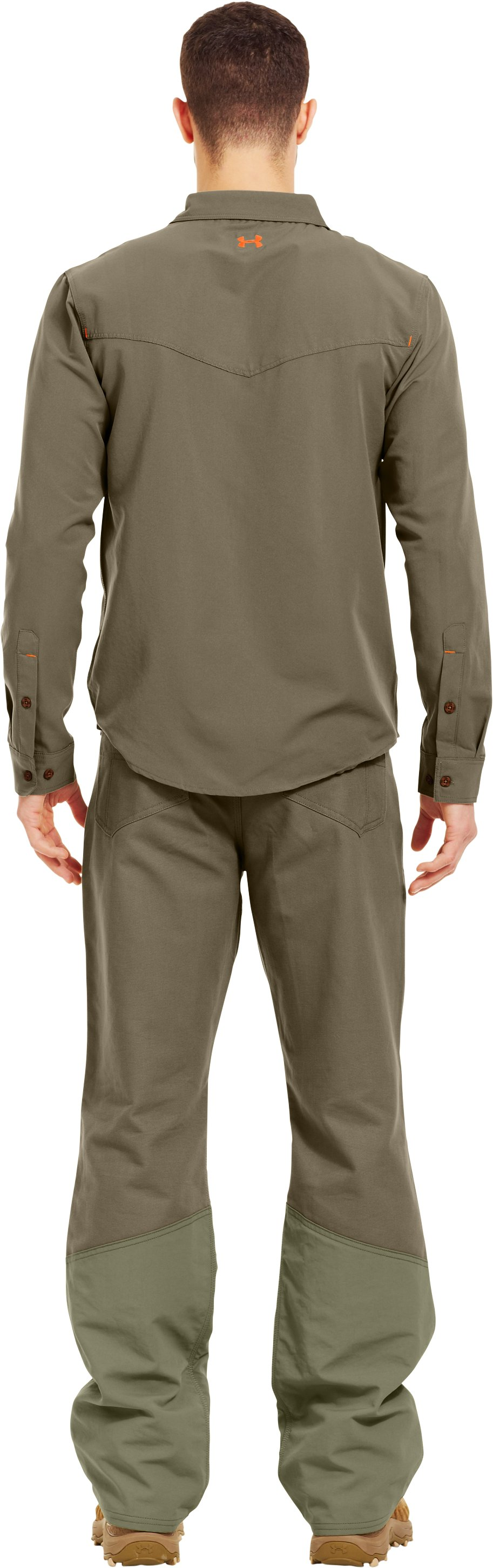 Men's UA Prey Shooting Shirt, Bayou, Back