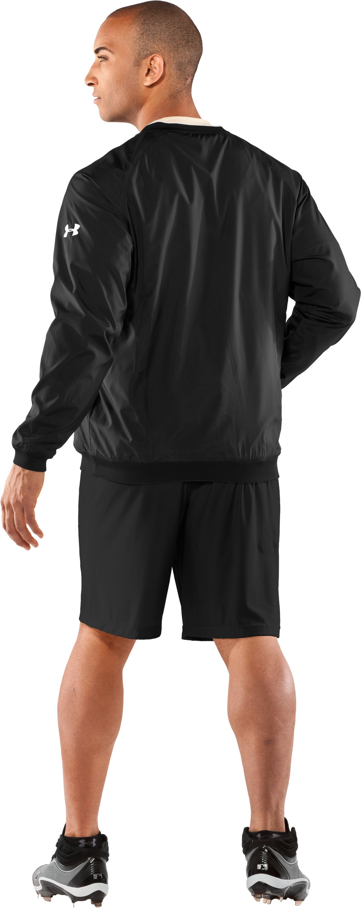 Men's Gamer V-Neck AllSeasonGear® Jacket, Black , Back