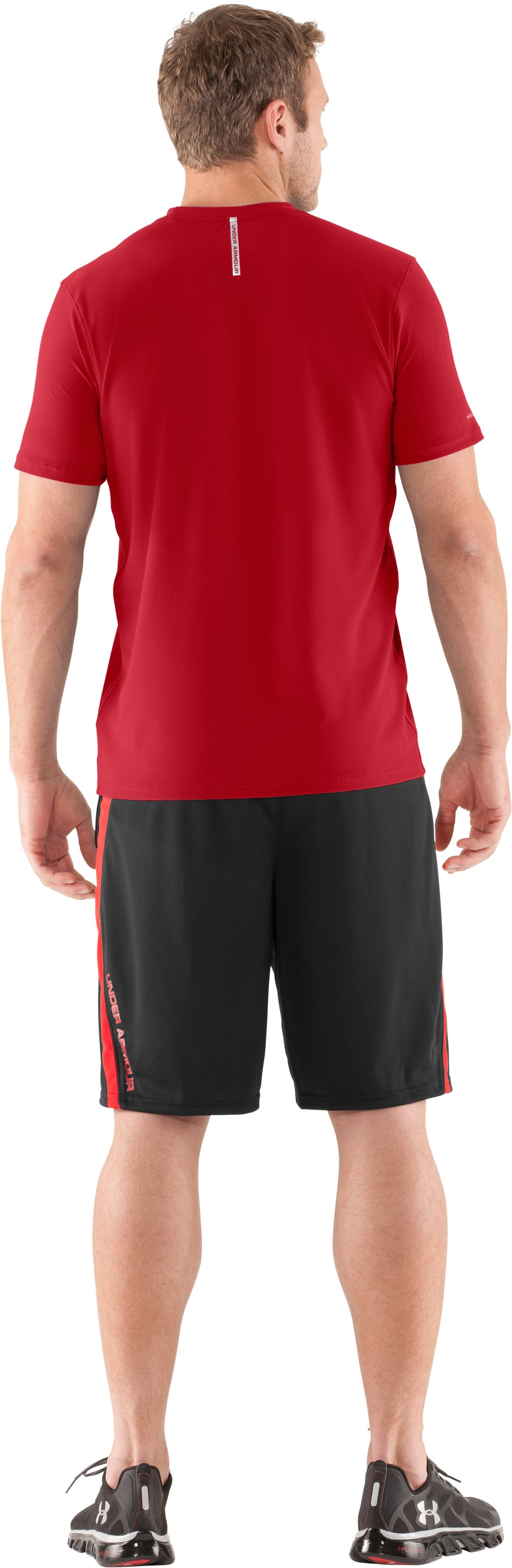 Men's coldblack® Short Sleeve T-Shirt, Red, Back