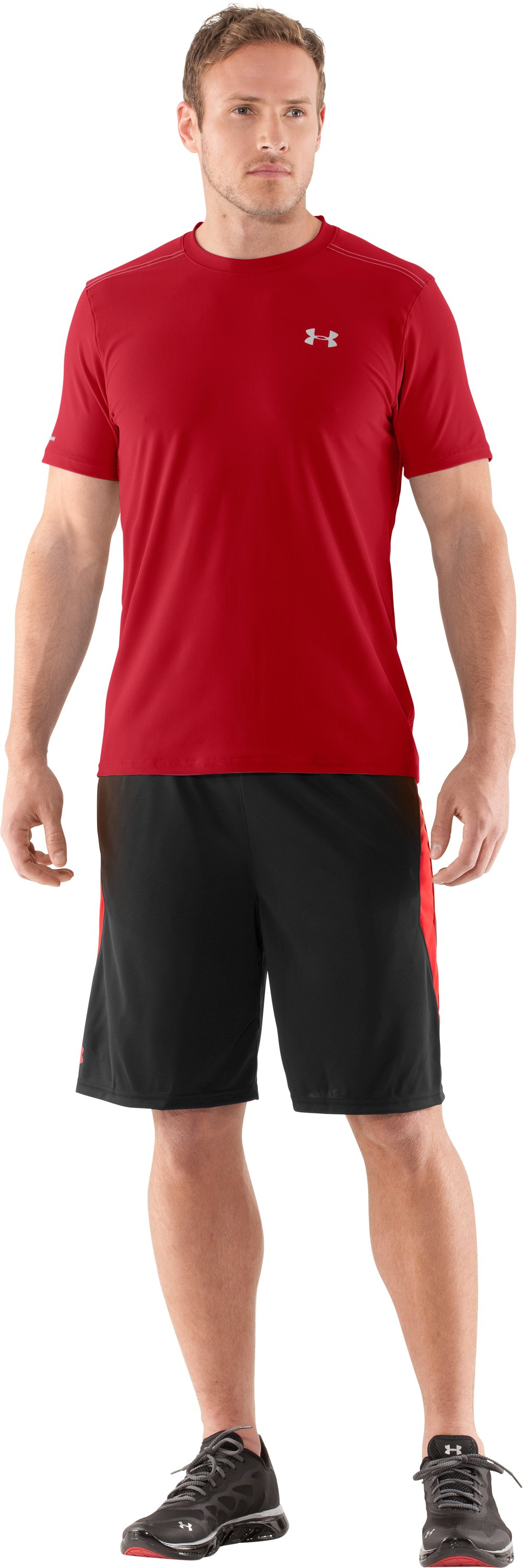Men's coldblack® Short Sleeve T-Shirt, Red, Front