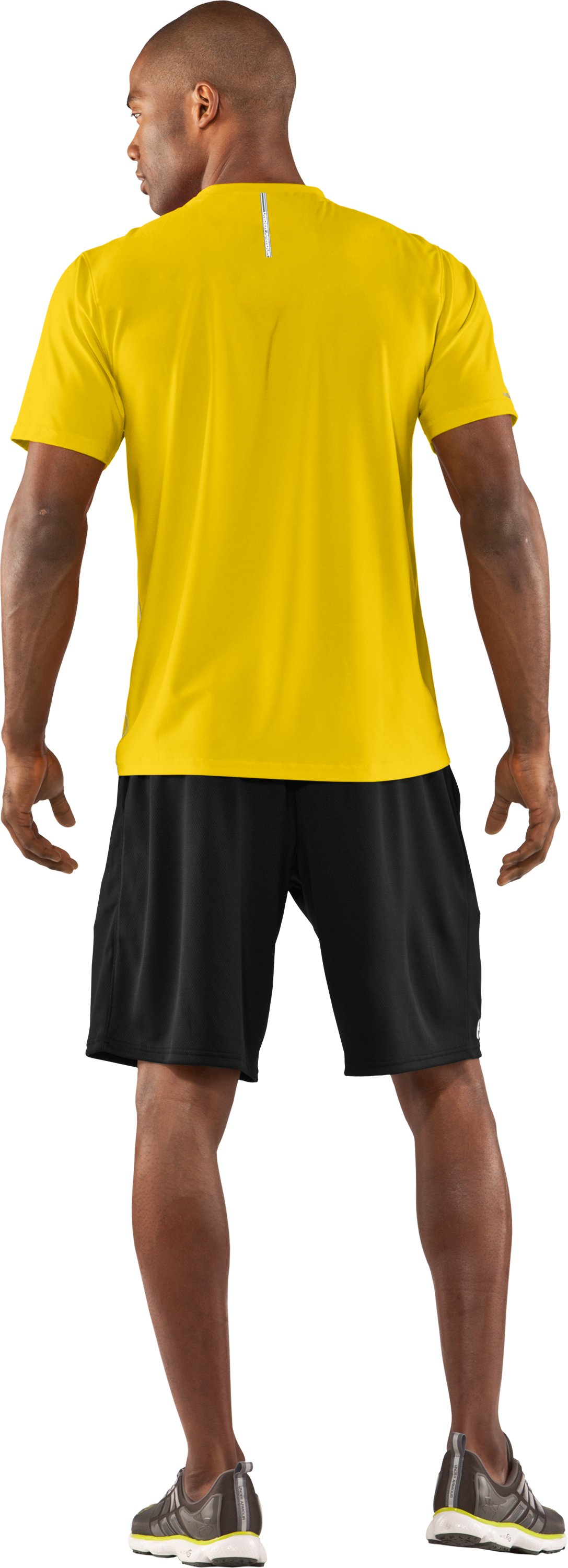 Men's coldblack® Short Sleeve T-Shirt, Taxi, Back